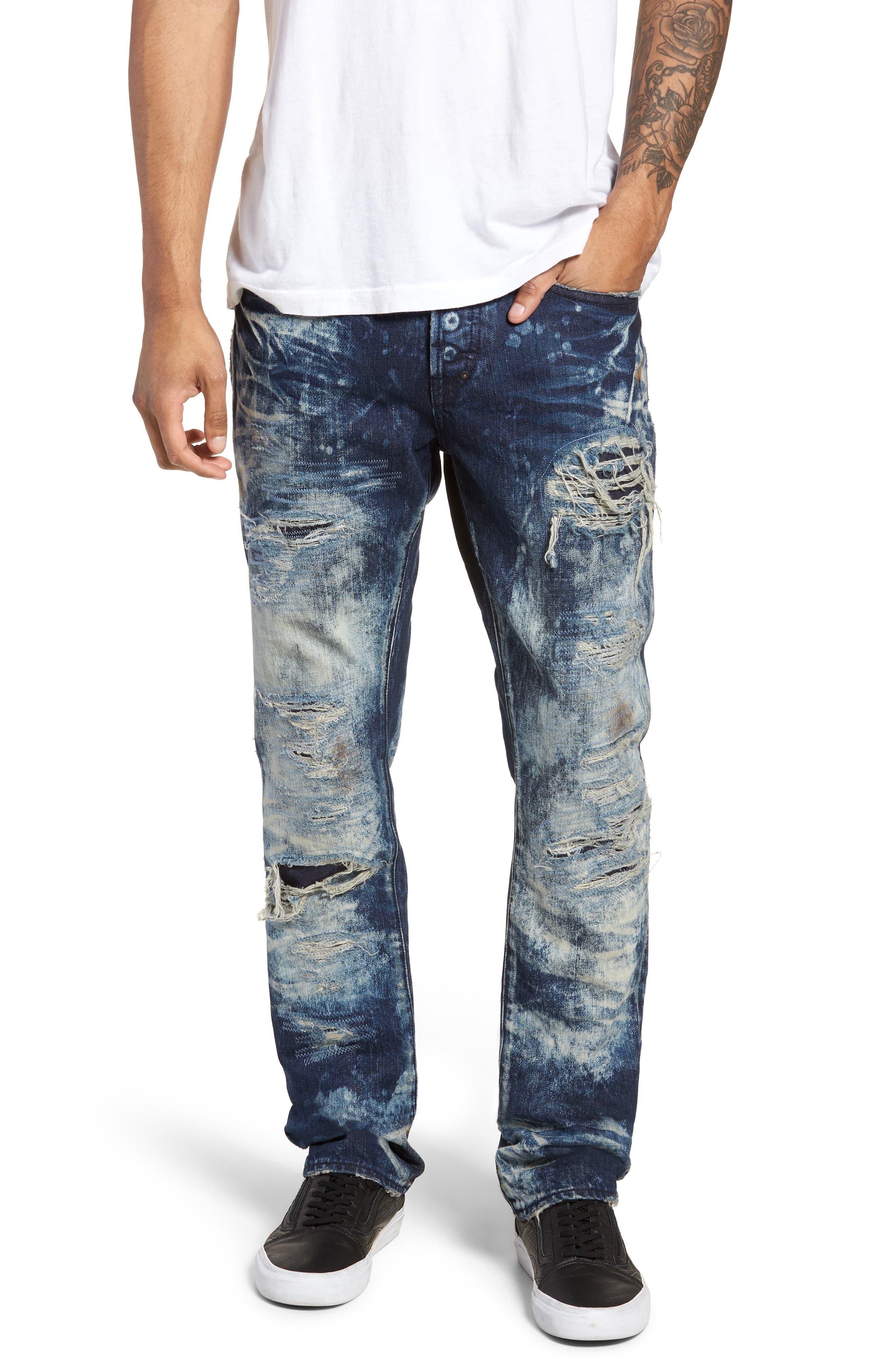 Le Sabre Slim Fit Jeans,                         Main,                         color, Consolation