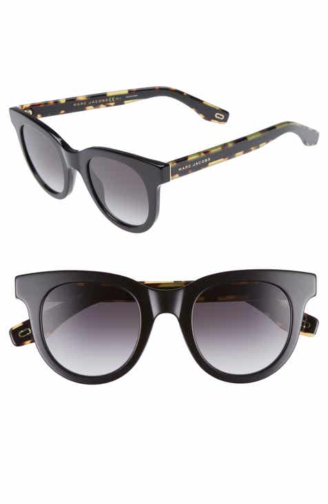 11c9061415c MARC JACOBS 47mm Round Lens Cat Eye Sunglasses