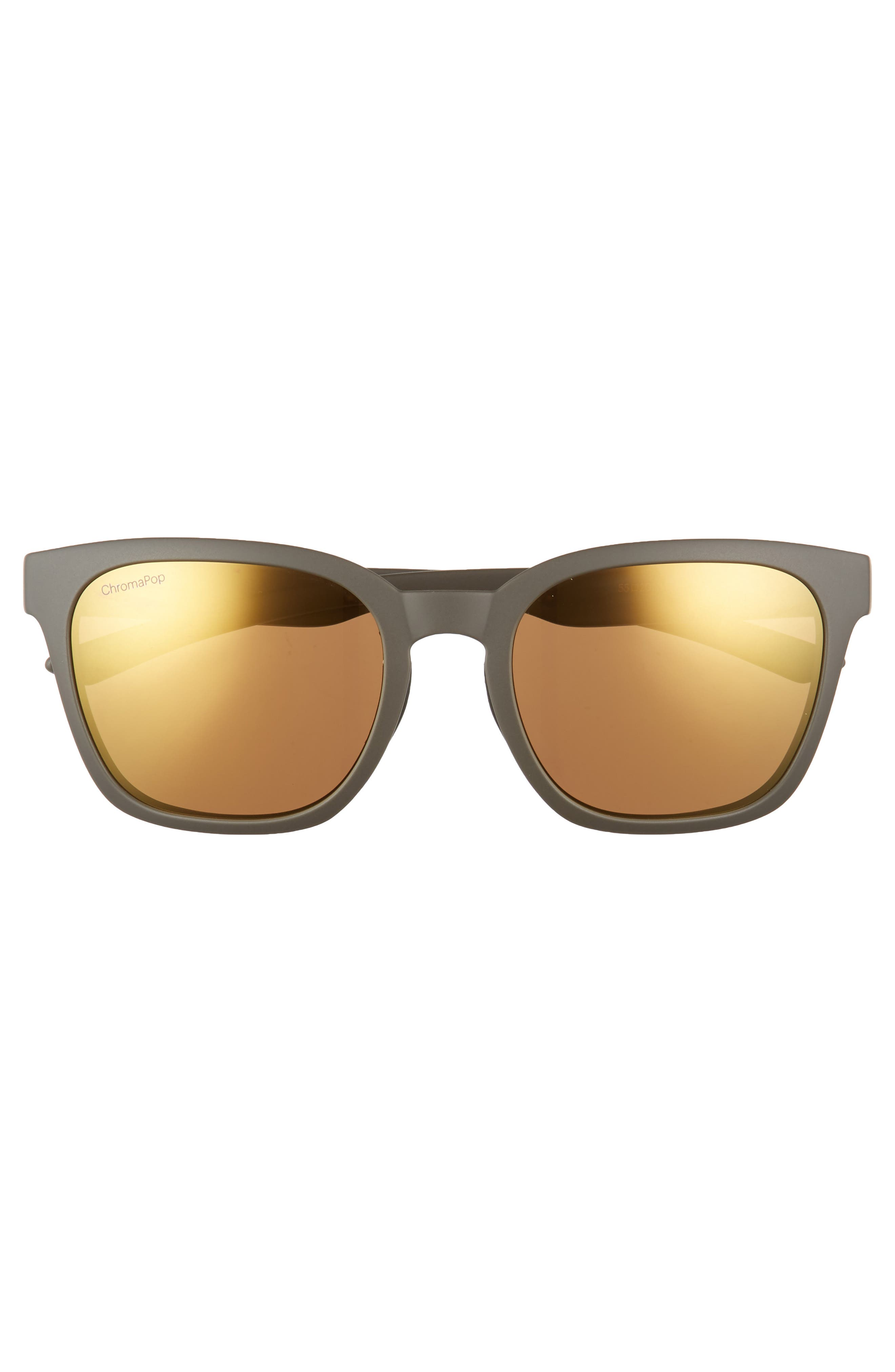 Founder 55mm ChromaPop<sup>™</sup> Polarized Sunglasses,                             Alternate thumbnail 3, color,                             Matte Gravy