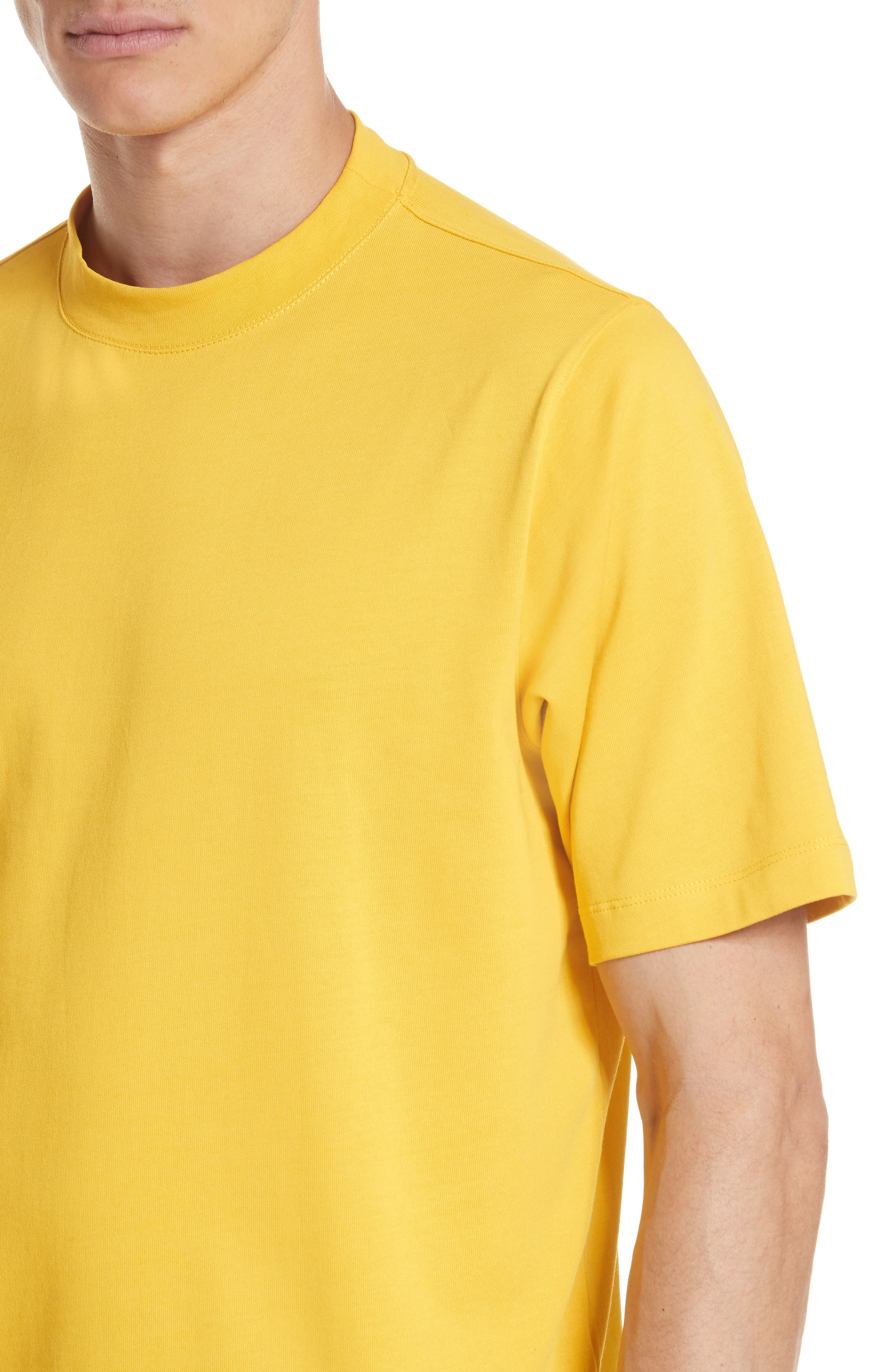 Tall T-Shirt,                             Alternate thumbnail 4, color,                             Yellow