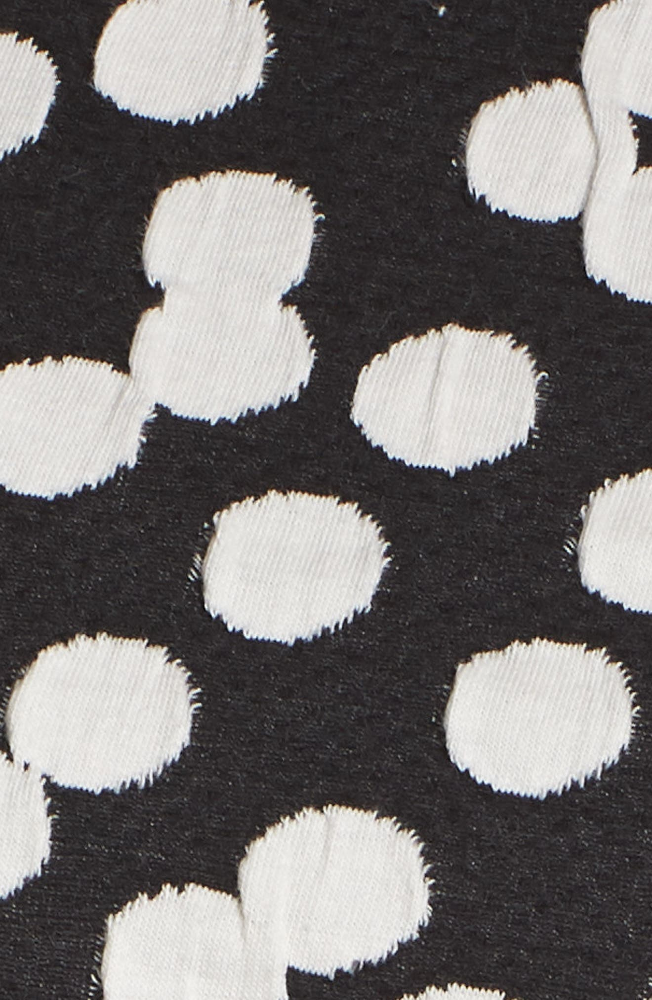 Ava Fit & Flare Dress,                             Alternate thumbnail 6, color,                             Cluster Dot
