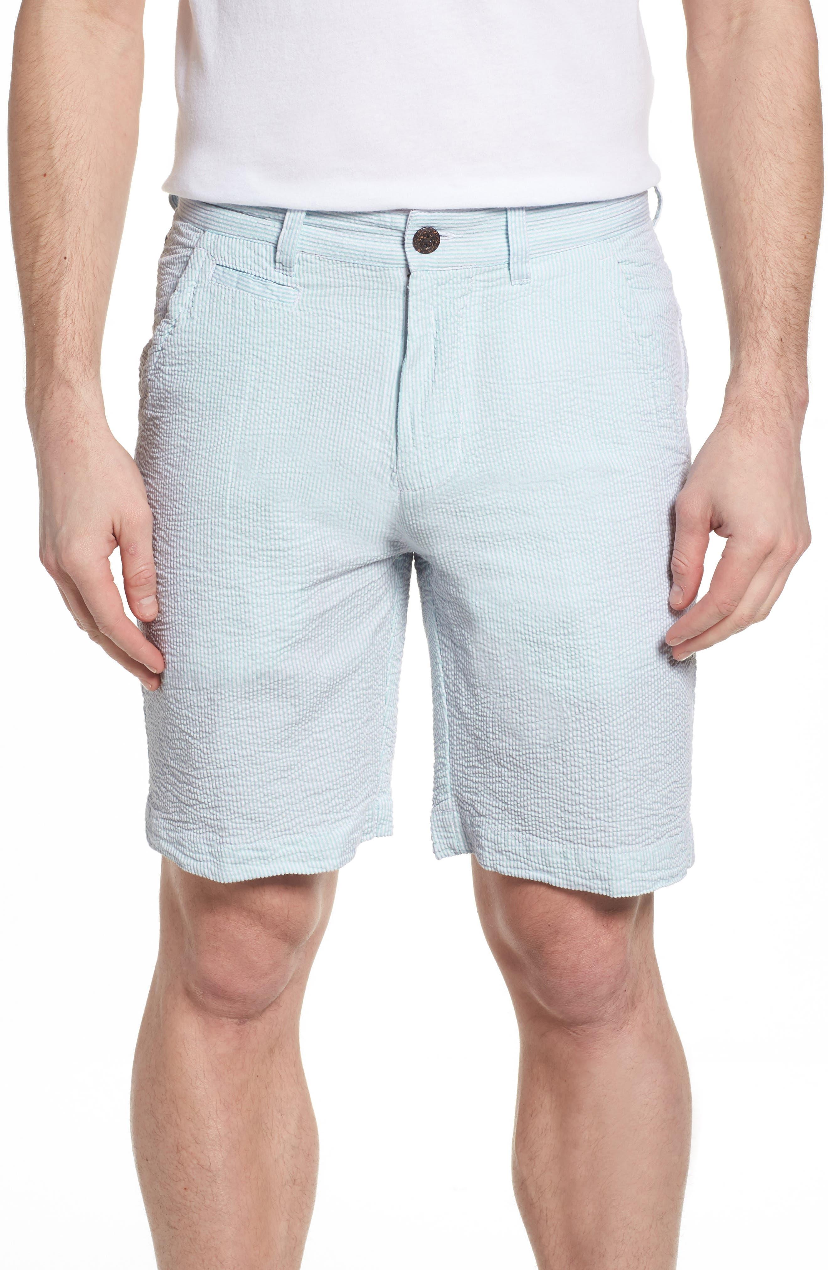 Main Image - Vintage 1946 Vintage Wash Seersucker Shorts