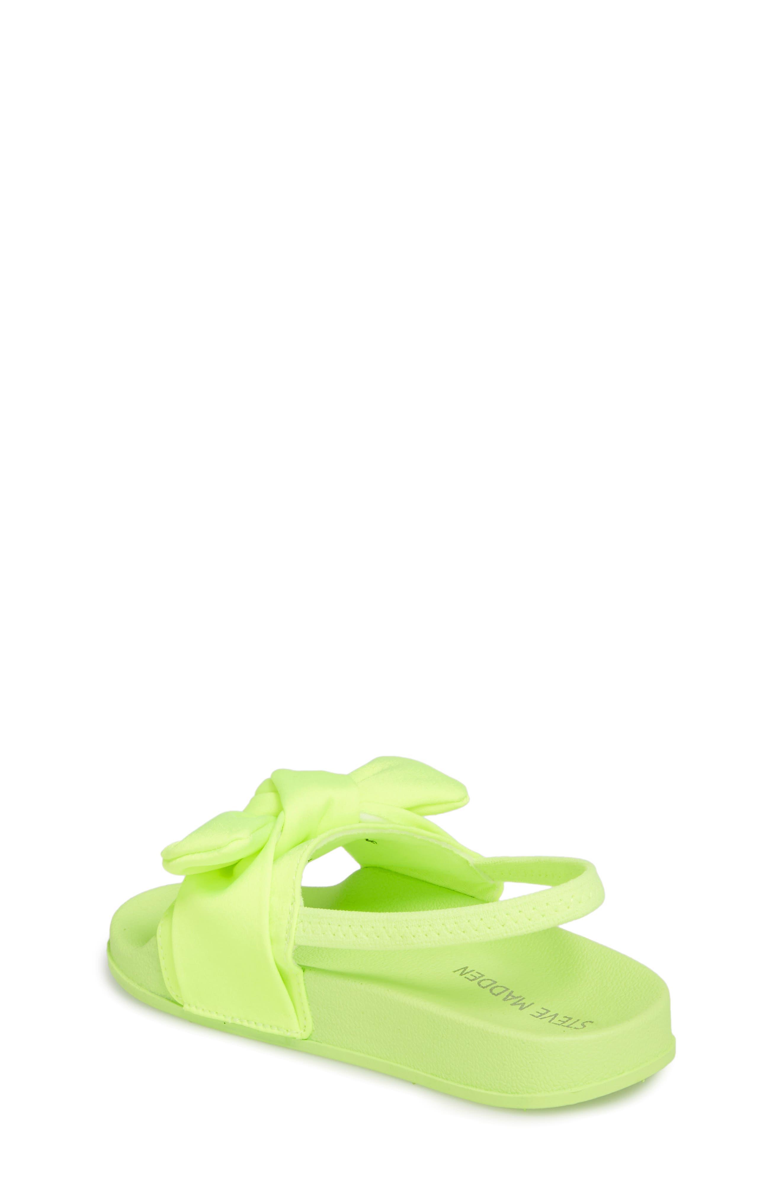 Tsilky Knotted Slide Sandal,                             Alternate thumbnail 2, color,                             Citron