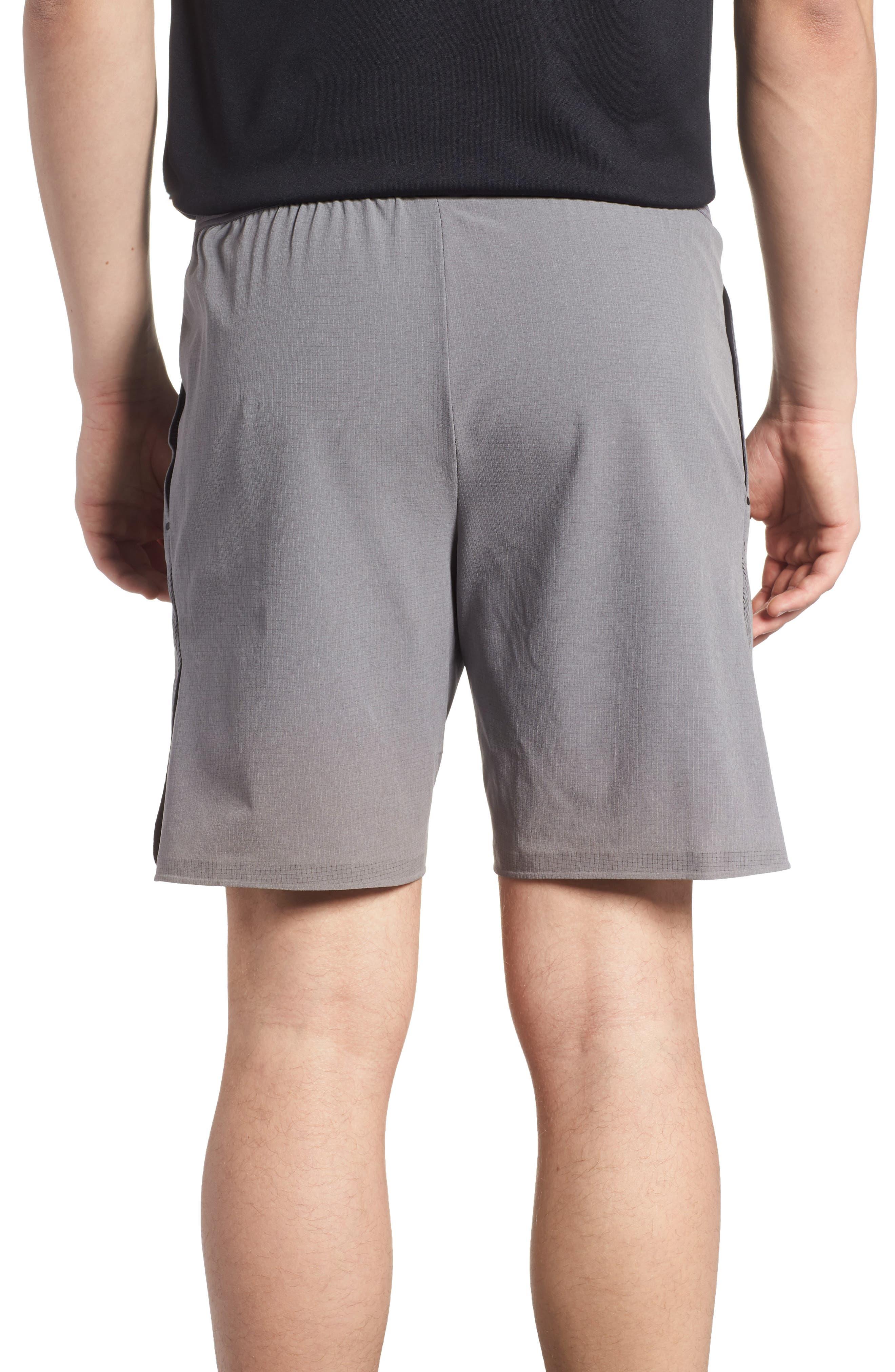 Repel 3.0 Flex Training Shorts,                             Alternate thumbnail 2, color,                             Gun Smoke/ Grey/ Black