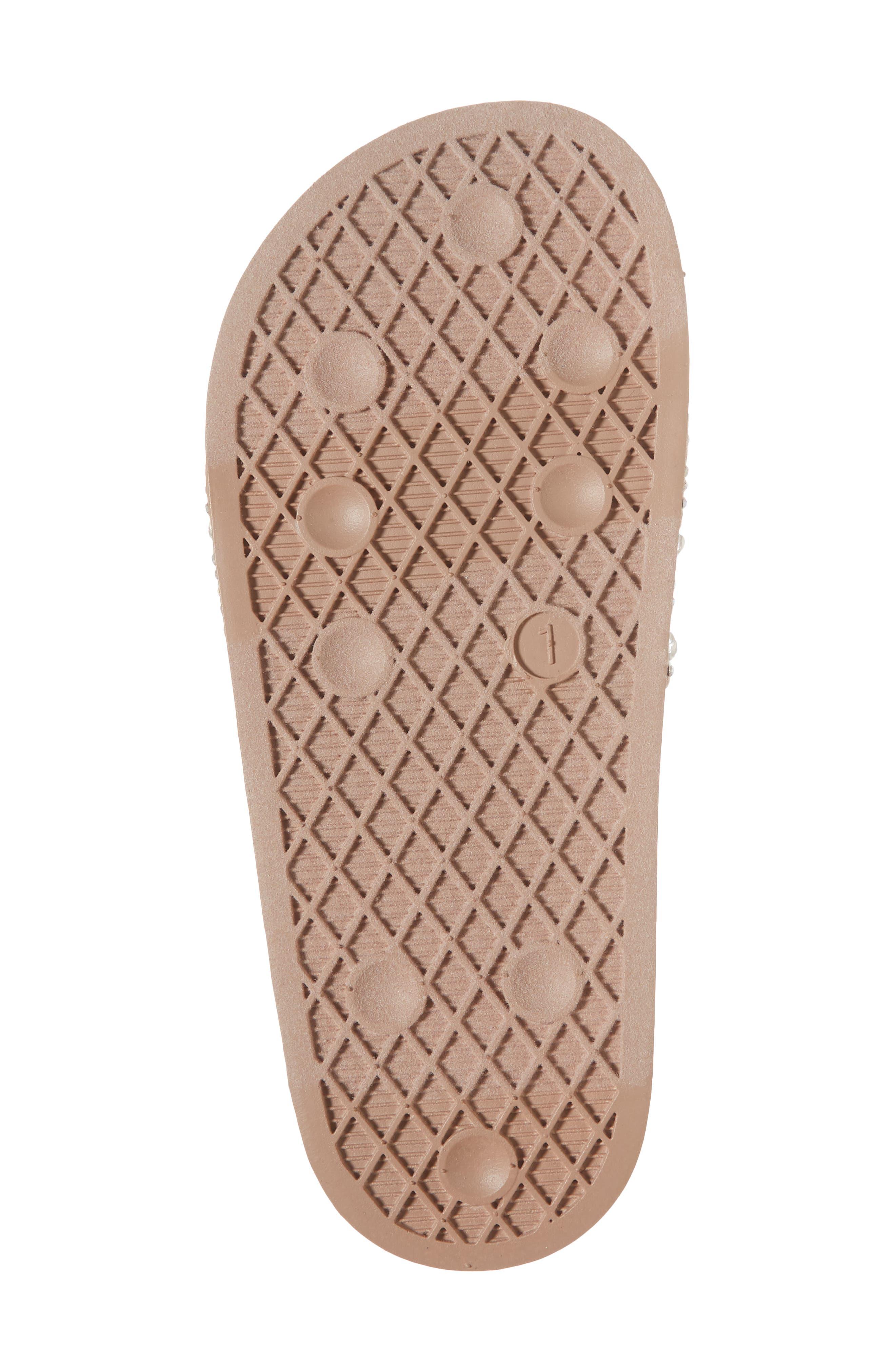 JDAZZLE Crystal Embellished Slide Sandal,                             Alternate thumbnail 6, color,                             Blush