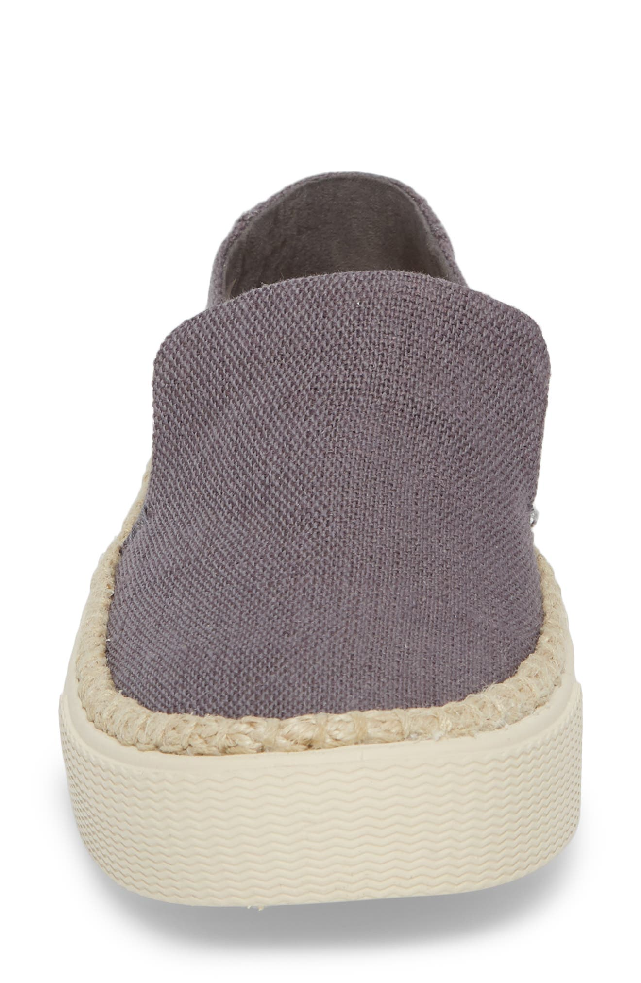 Sunset Slip-On,                             Alternate thumbnail 4, color,                             Shade Heritage Canvas/ Rope