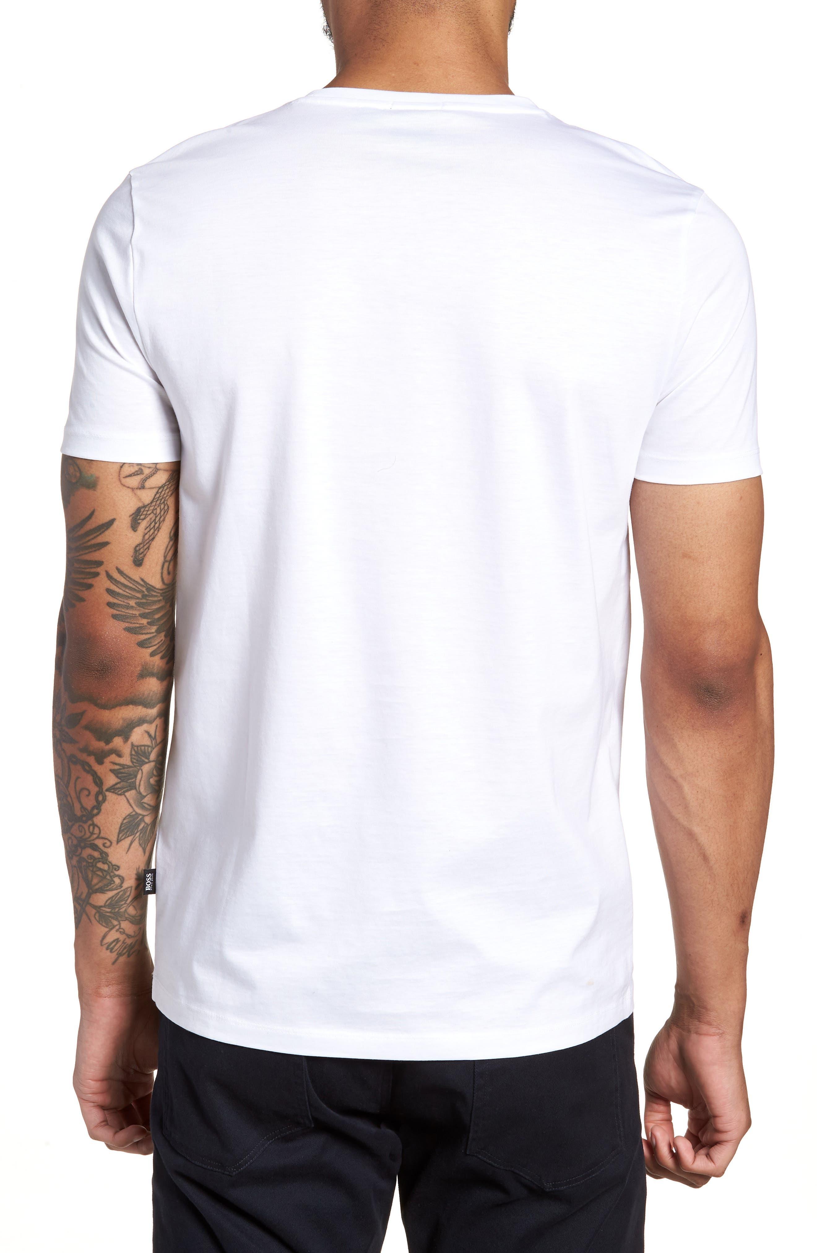 Tessler Crewneck T-Shirt,                             Alternate thumbnail 2, color,                             White