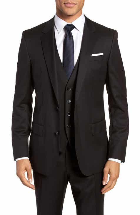 8e55eff30 BOSS Hayes CYL Slim Fit Solid Wool Sport Coat