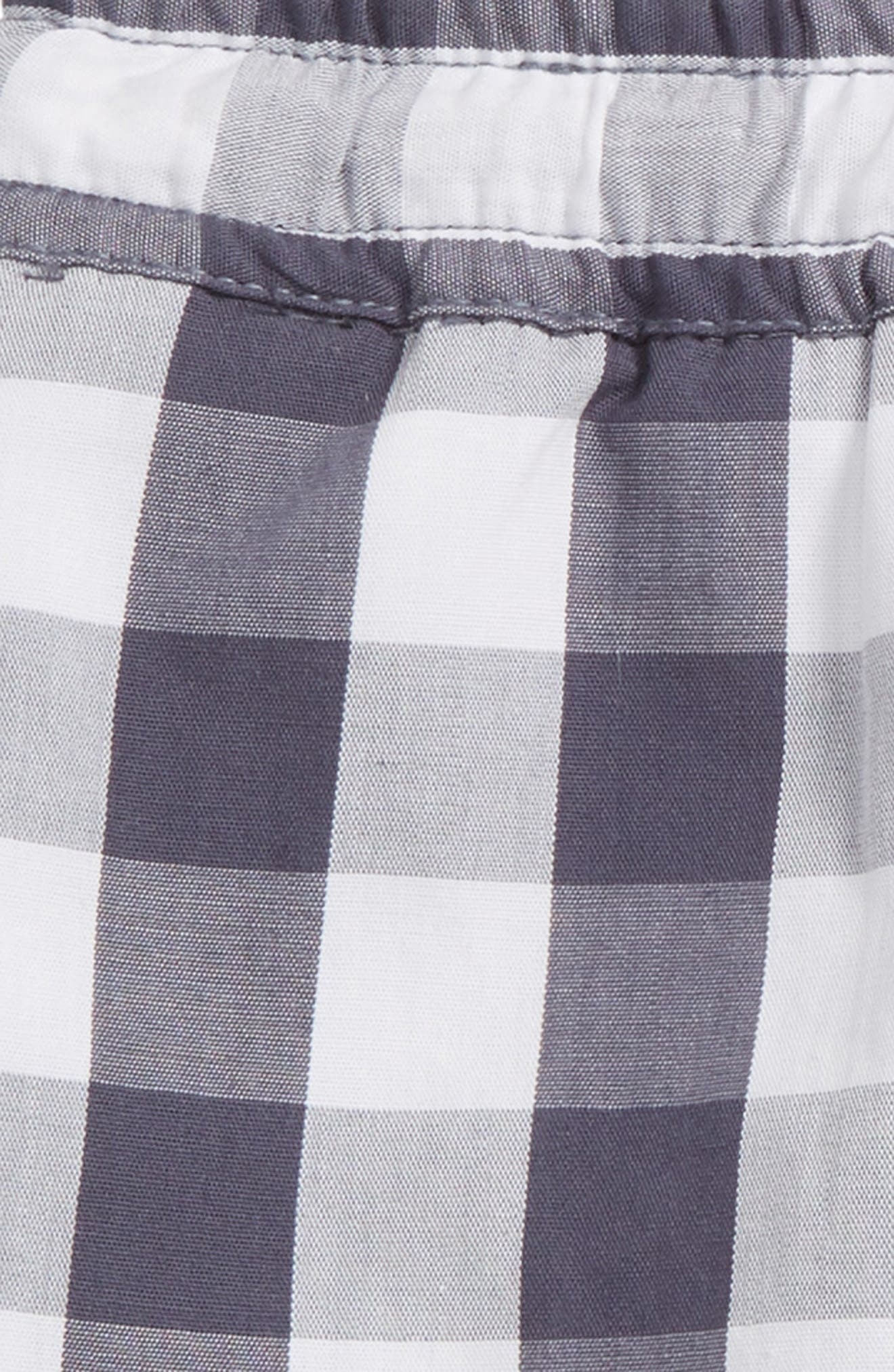 Anders Gingham Shorts,                             Alternate thumbnail 2, color,                             Greyblue