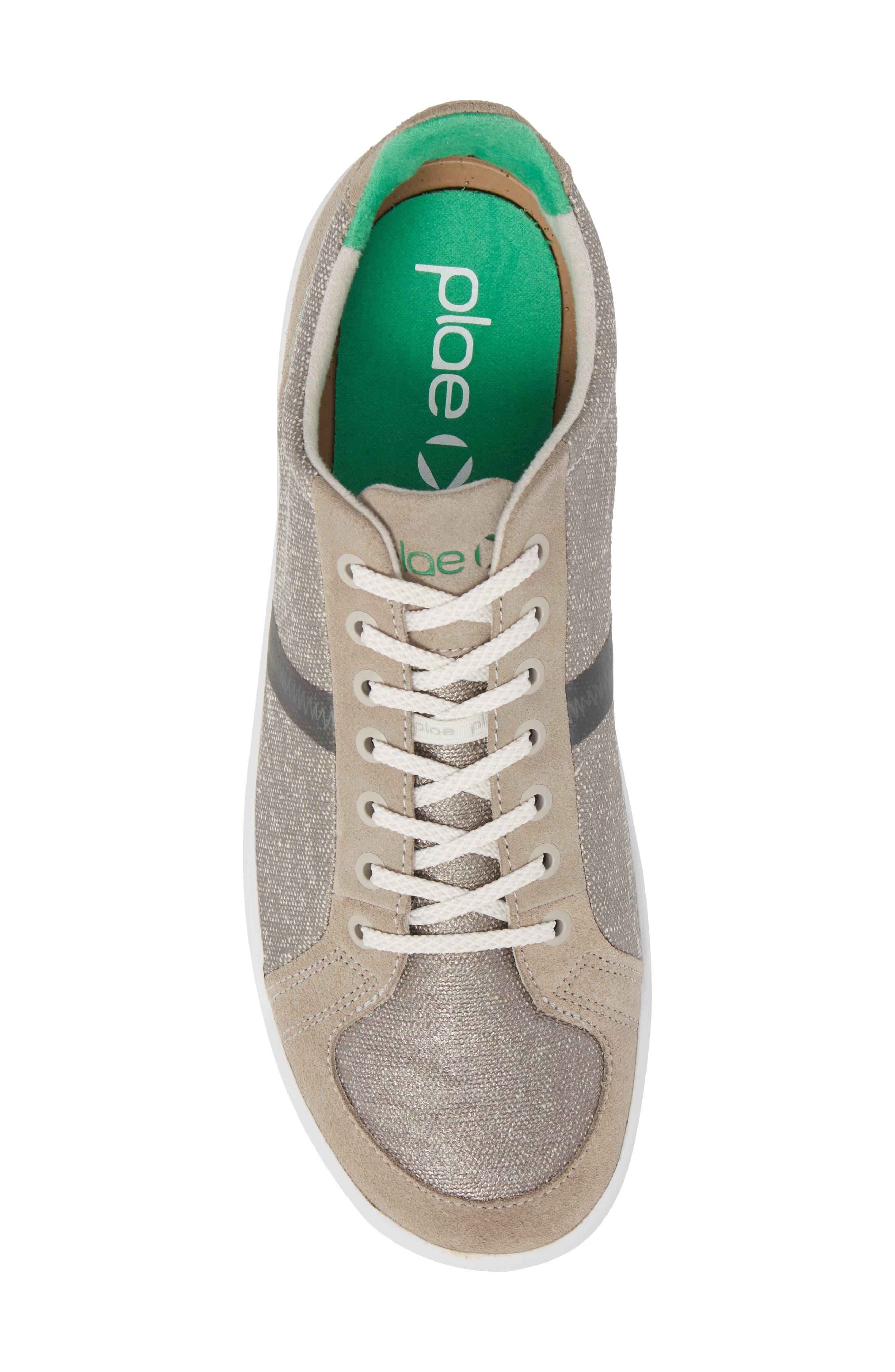 Prospect Low Top Sneaker,                             Alternate thumbnail 5, color,                             Stone