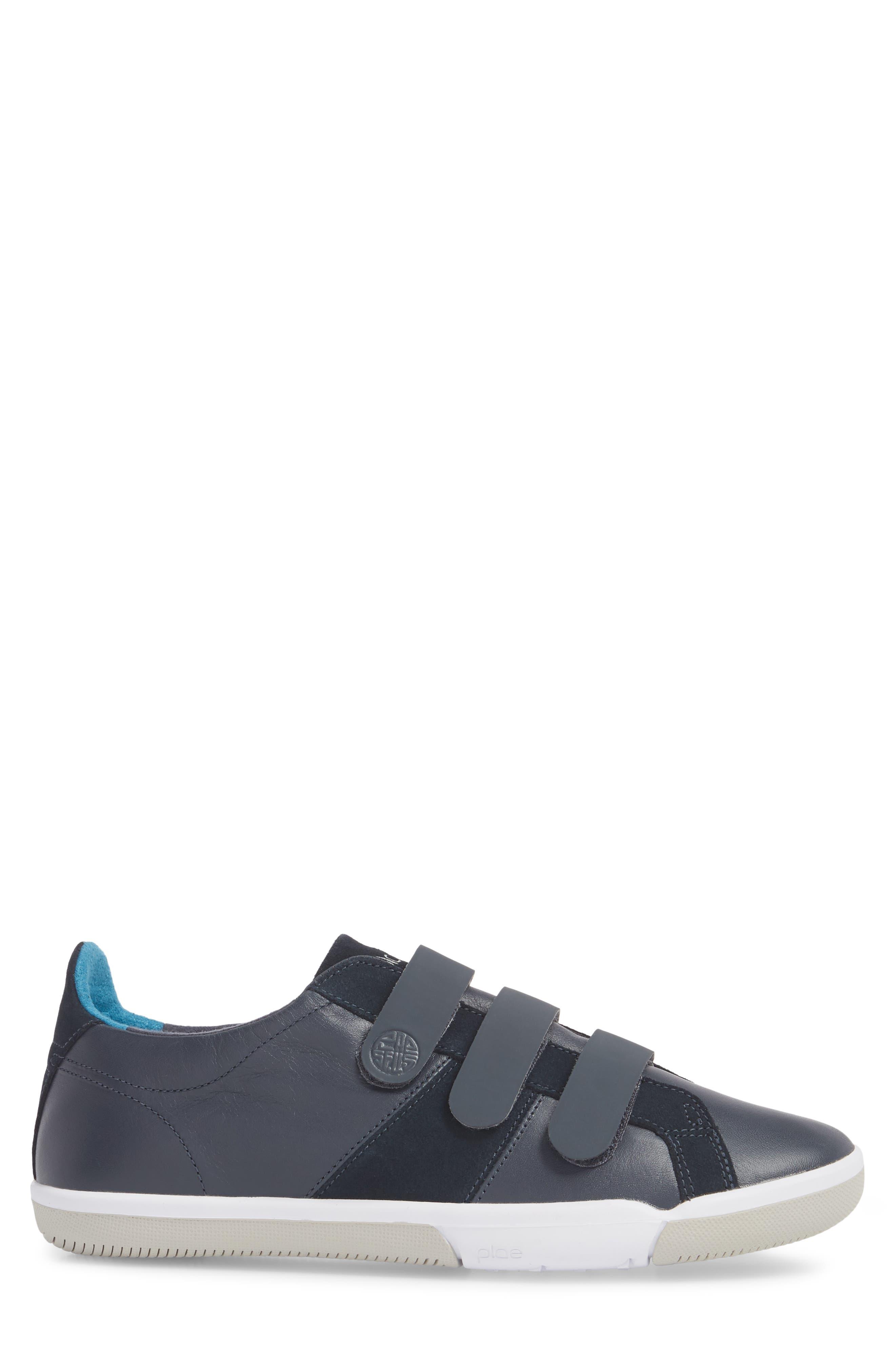 Larkin Low Top Sneaker,                             Alternate thumbnail 3, color,                             Blue Nights