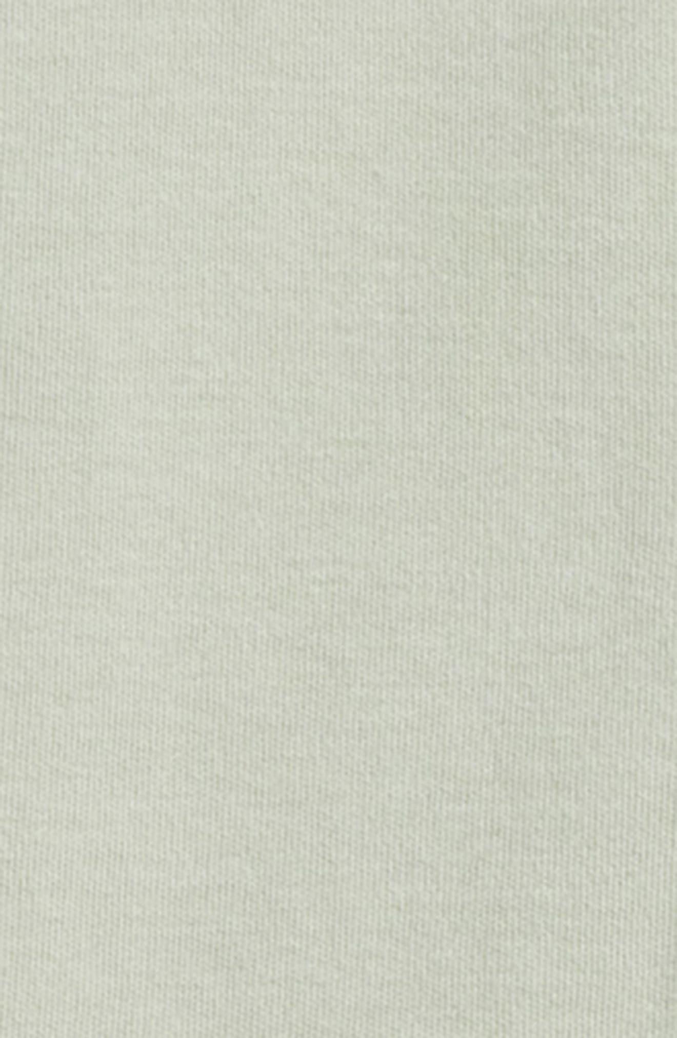 Organic Cotton Footie,                             Alternate thumbnail 2, color,                             Seafoam