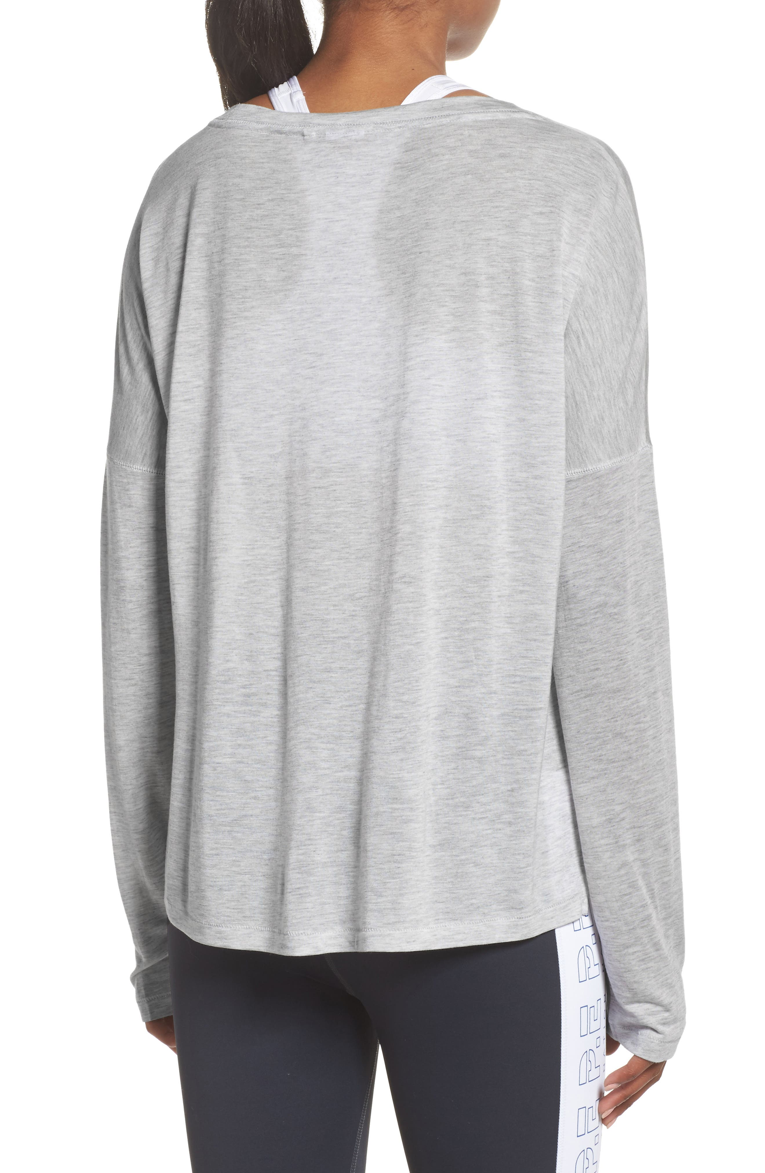 Cool Running Top,                             Alternate thumbnail 2, color,                             Grey Marle