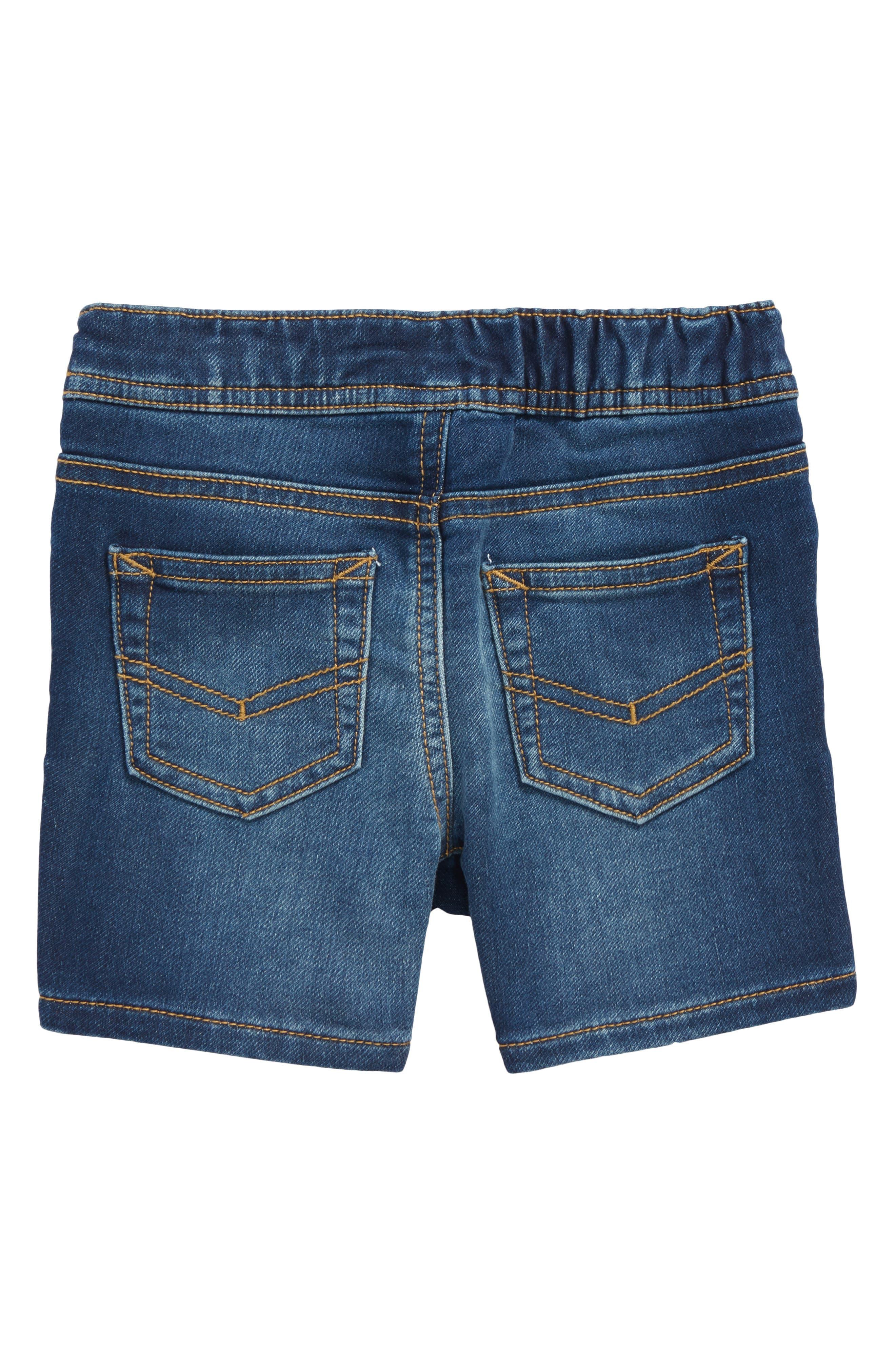 Denim Shorts,                             Alternate thumbnail 2, color,                             Bale Wash