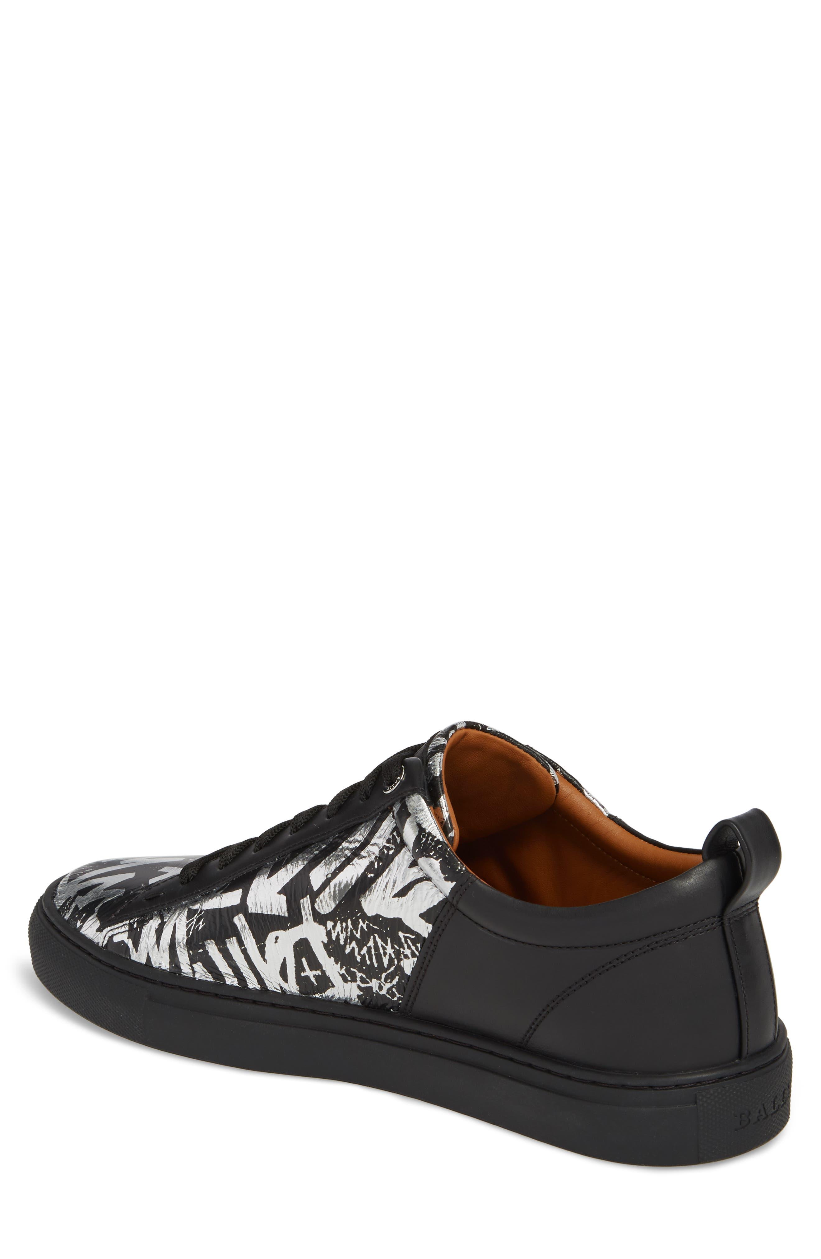 Herbi Low Top Sneaker,                             Alternate thumbnail 2, color,                             Silver