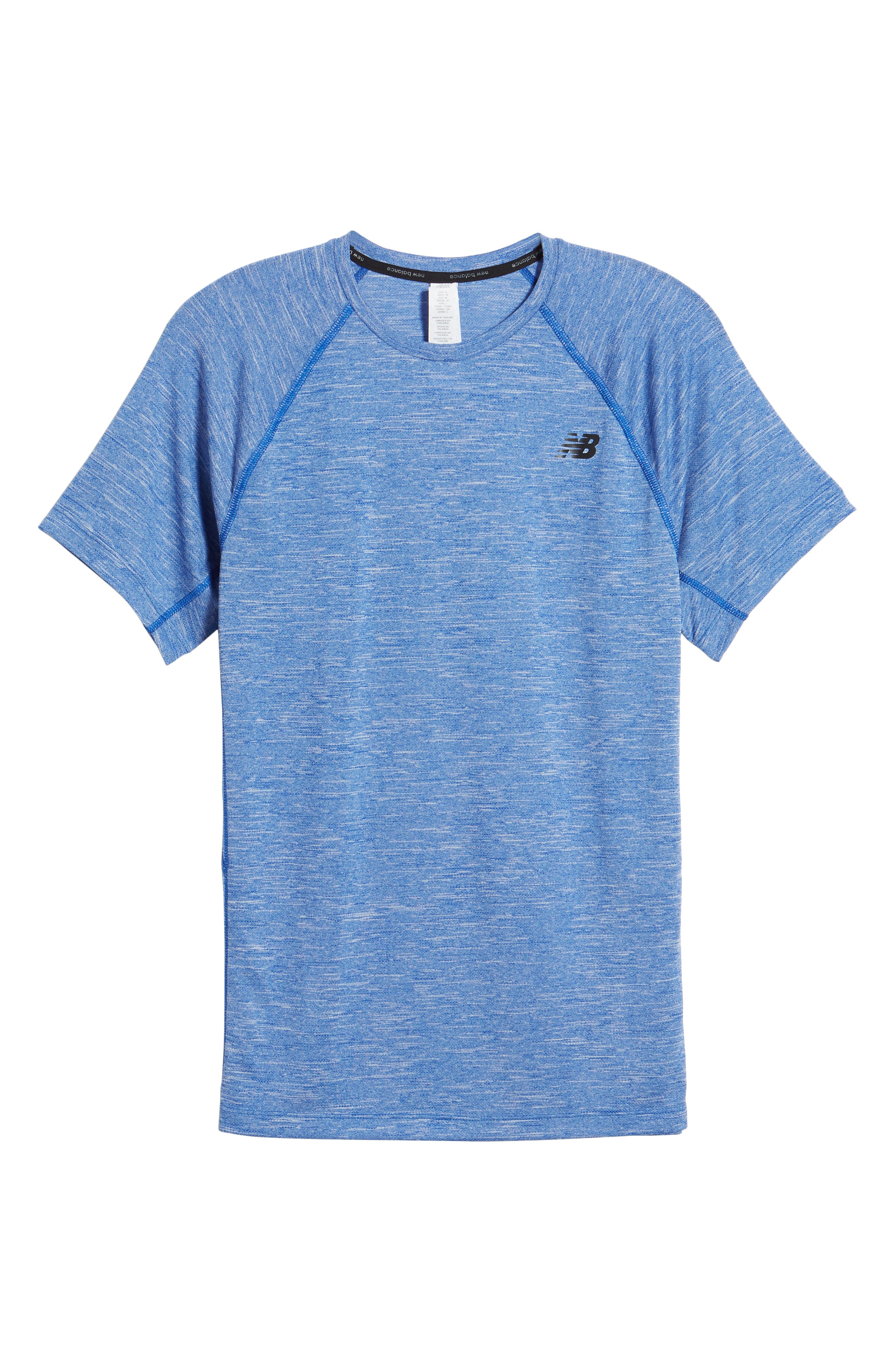 Tenacity Crewneck T-Shirt,                             Alternate thumbnail 6, color,                             Team Royal