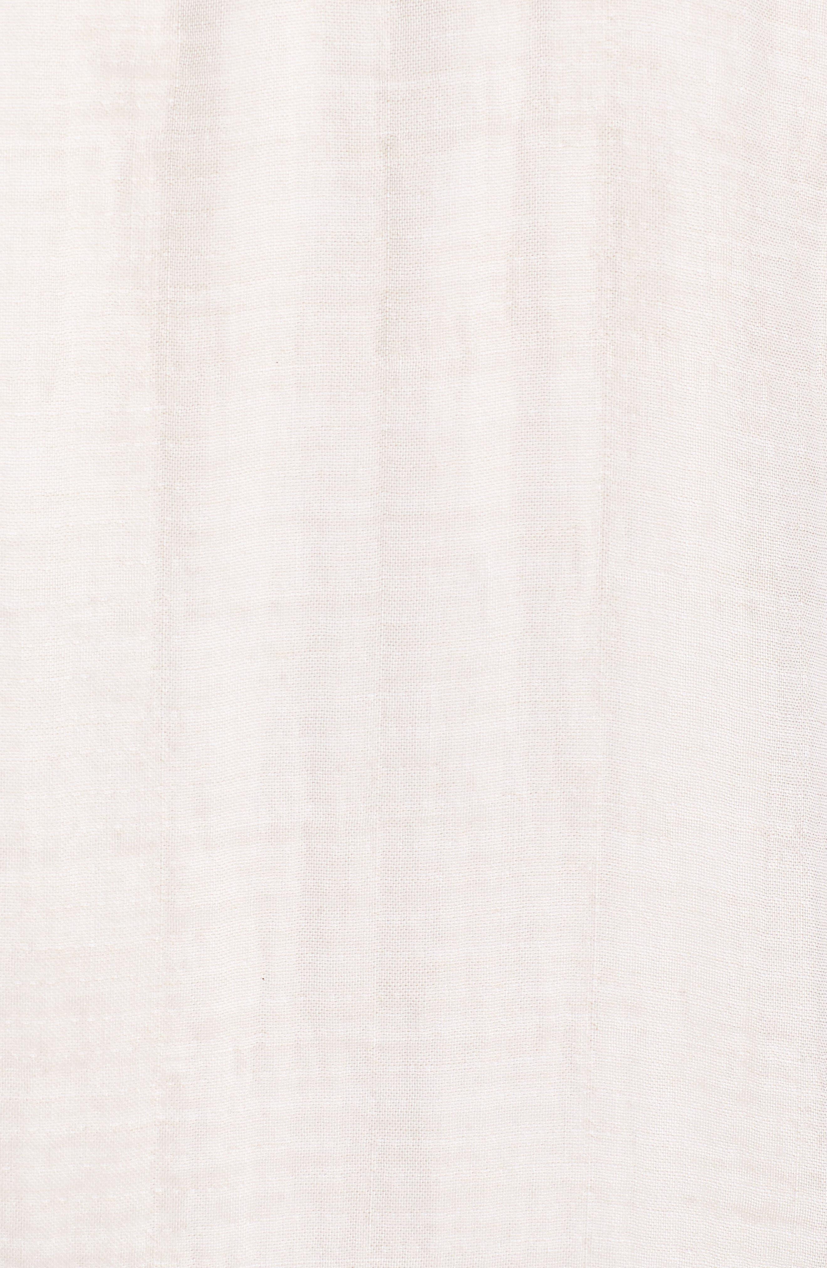 Linen Blend Kimono Jacket,                             Alternate thumbnail 6, color,                             Natural