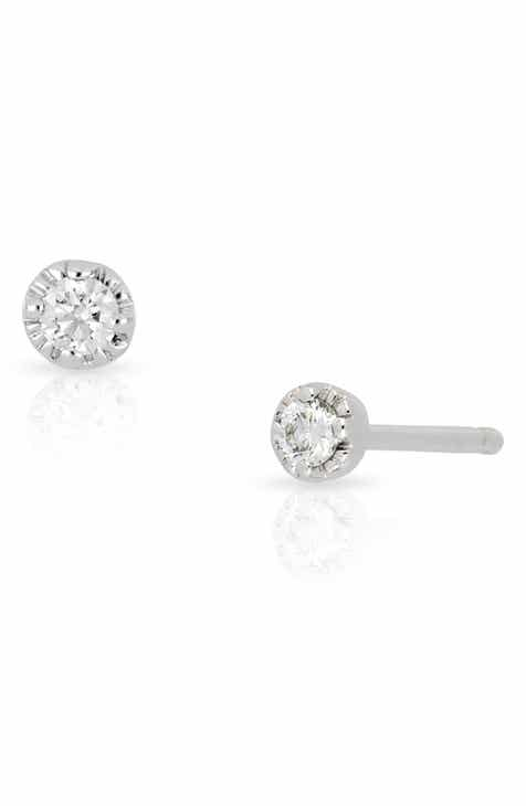 Bony Levy Mila Diamond Stud Earrings Nordstrom Exclusive
