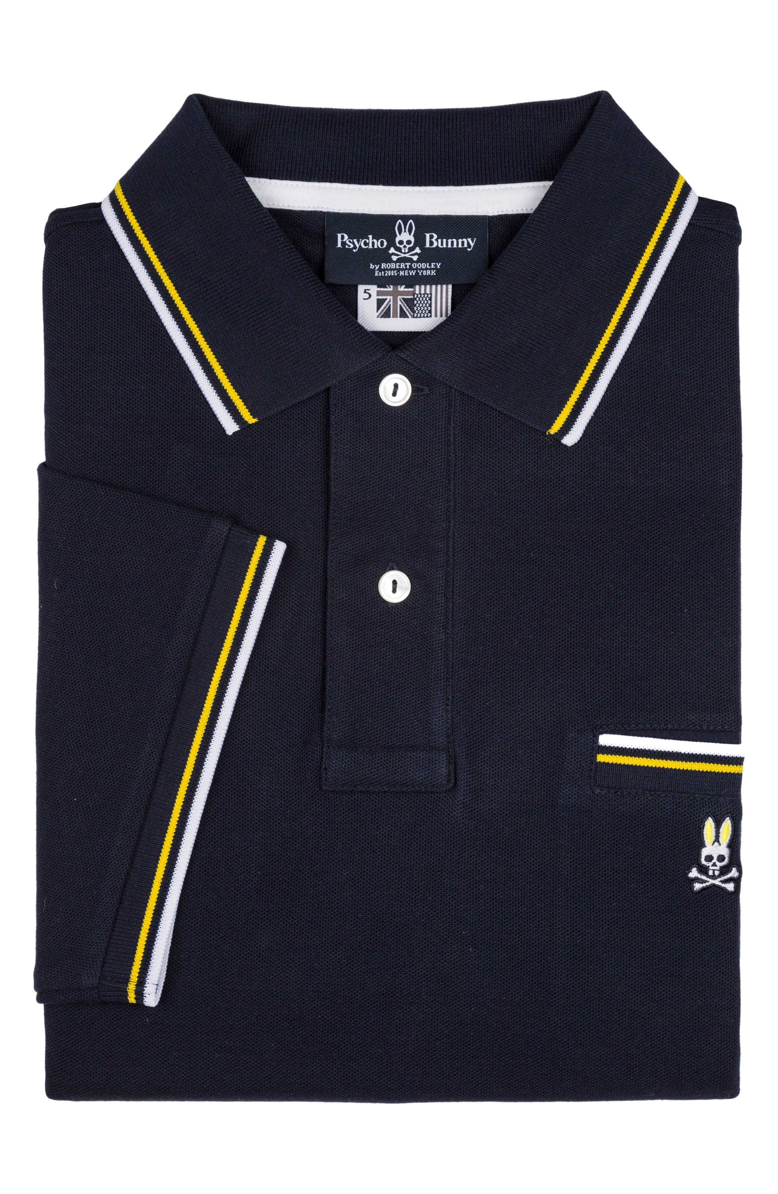 Binfield Pocket Polo,                         Main,                         color, Navy