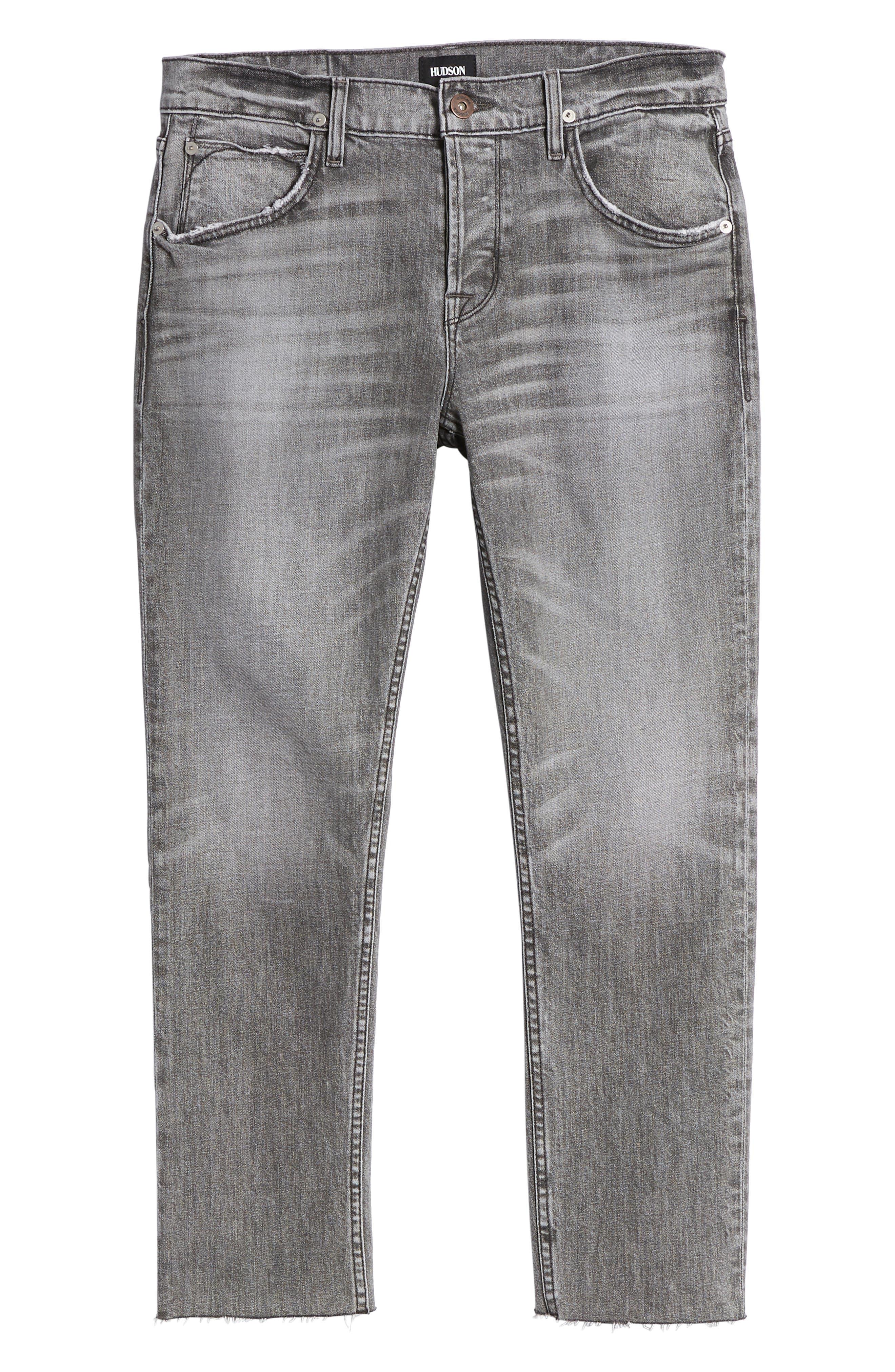 Blake Slim Fit Jeans,                             Alternate thumbnail 6, color,                             Chrome