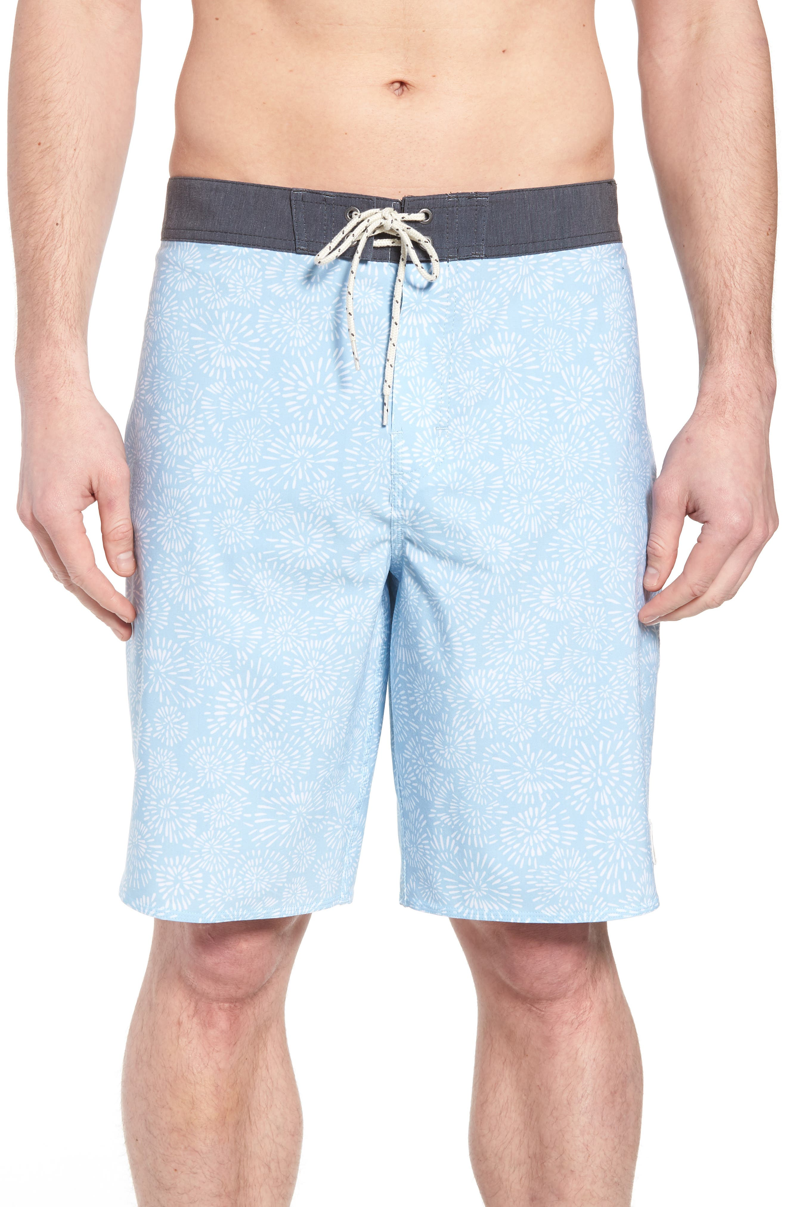Waterfront Board Shorts,                         Main,                         color, Light Blue