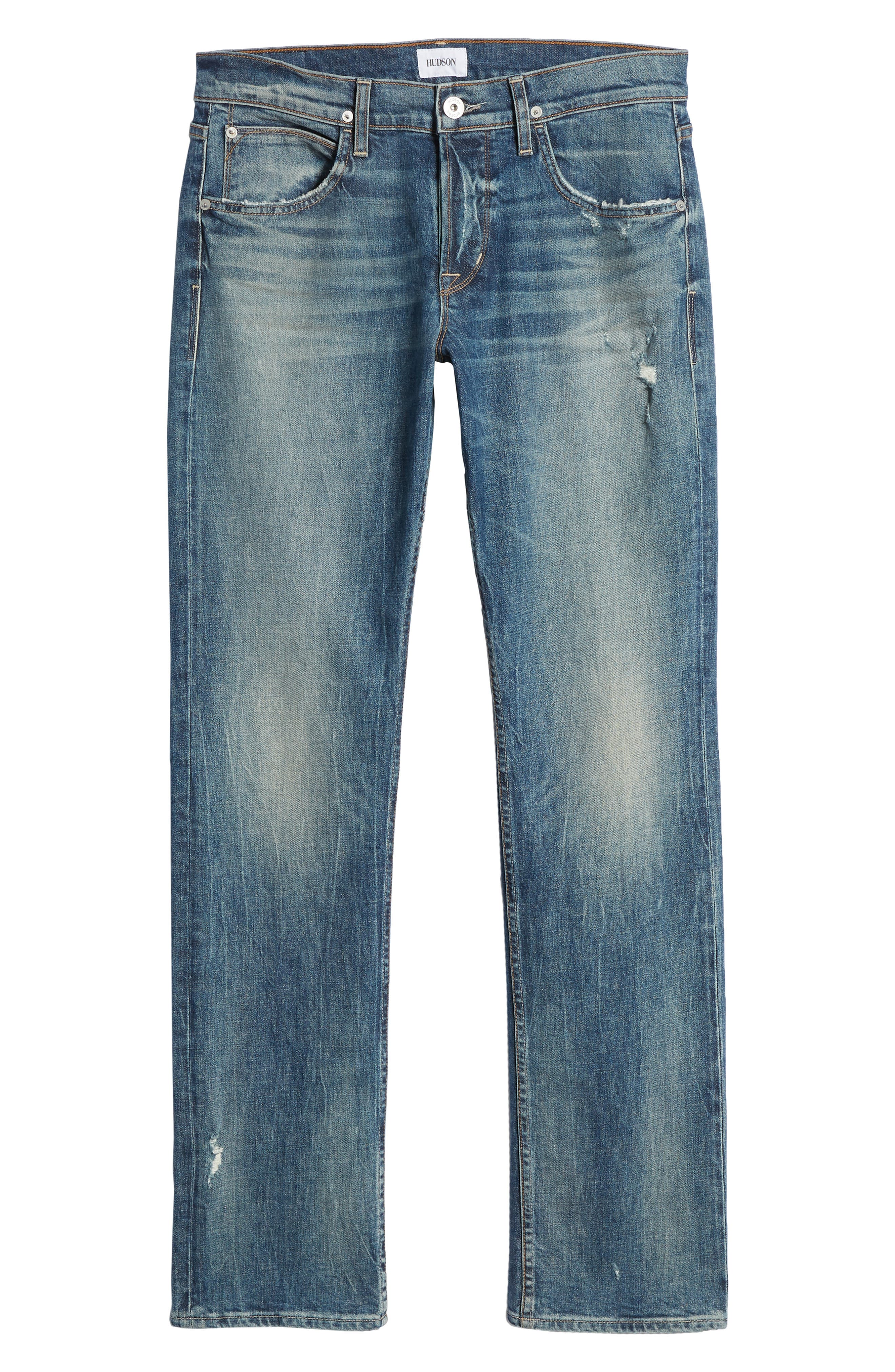Byron Slim Straight Fit Jeans,                             Alternate thumbnail 6, color,                             Hang Up