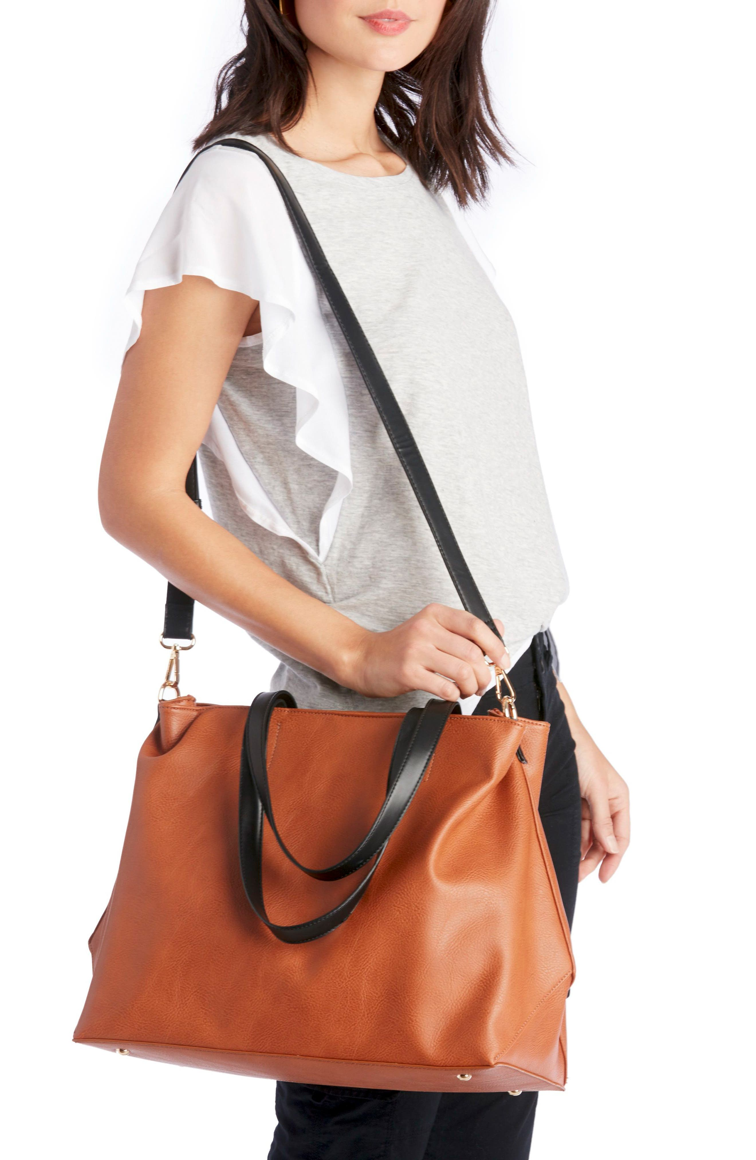 Alternate Image 2  - Sole Society Hester Faux Leather Tote