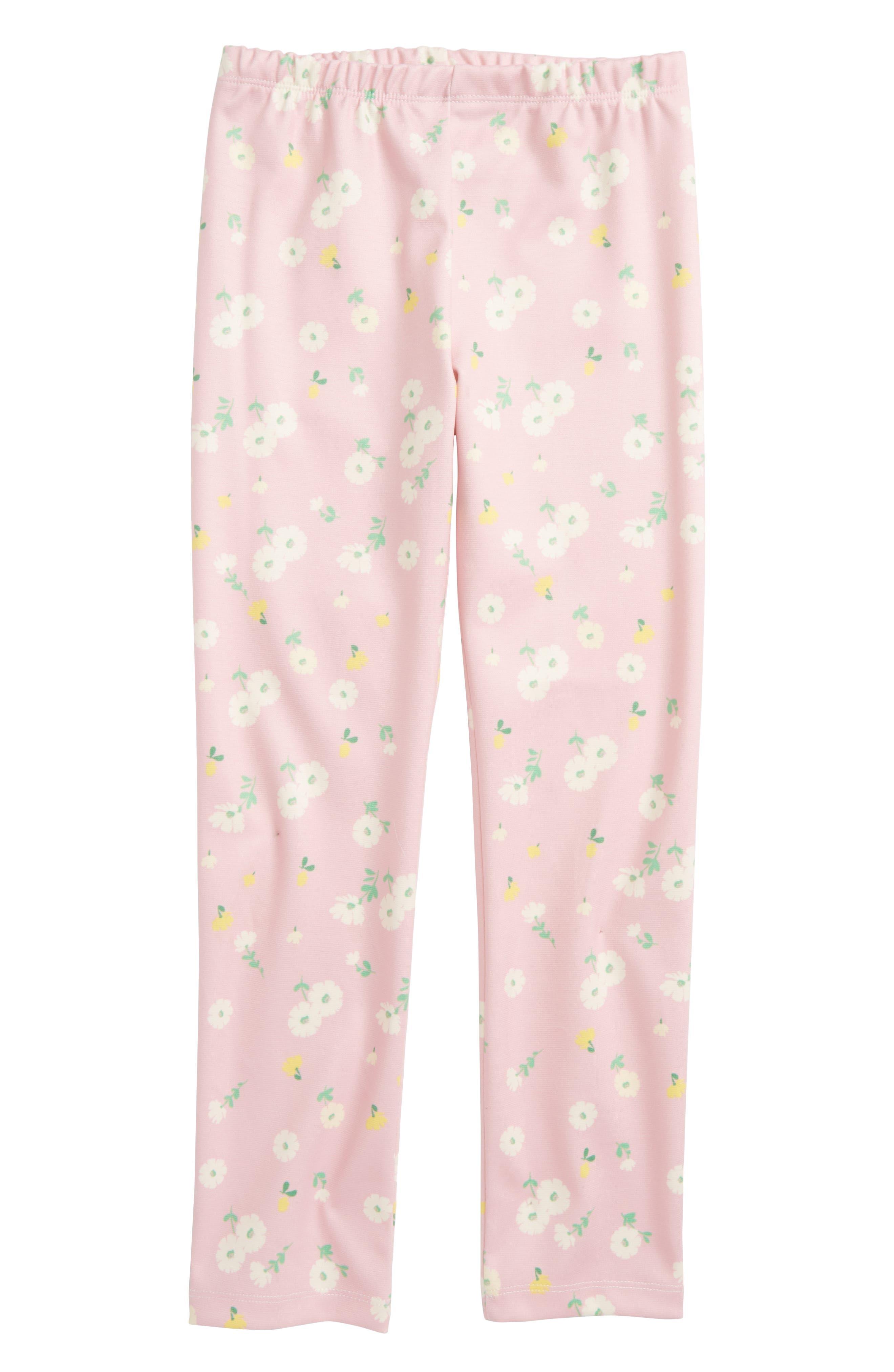 Floral Print Leggings,                         Main,                         color, Pink Multi