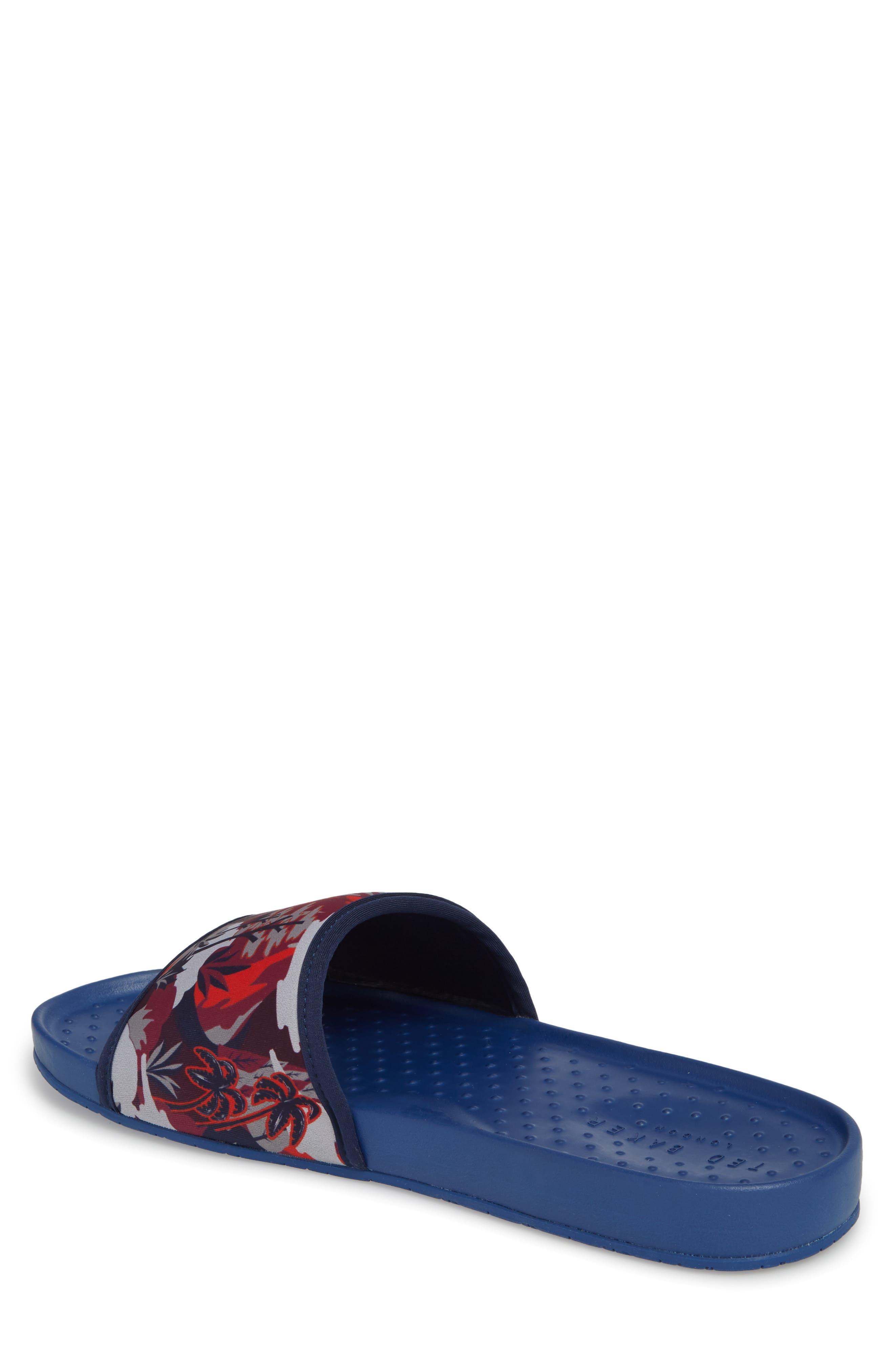 Sauldi 2 Slide Sandal,                             Alternate thumbnail 2, color,                             Dark Blue