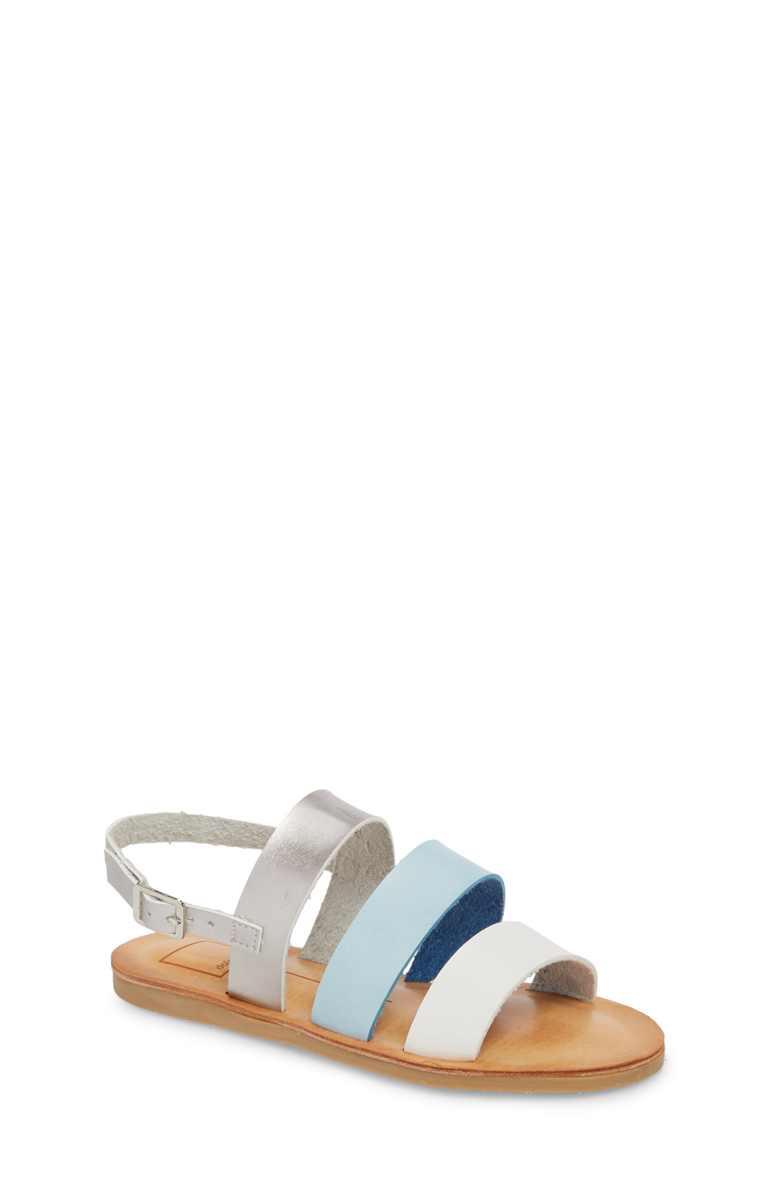 Joy Sandal,                         Main,                         color, Blue Multi