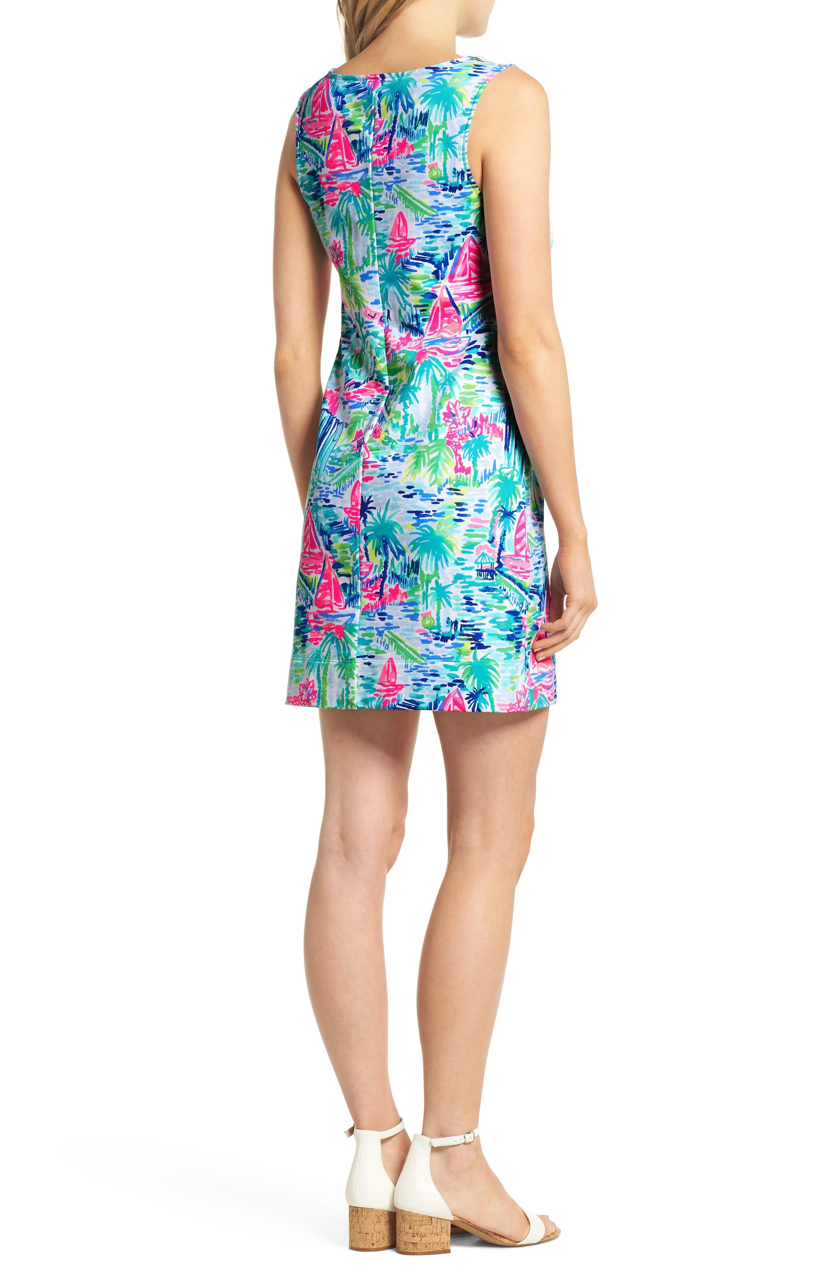 Harper Shift Dress,                             Alternate thumbnail 2, color,                             Multi