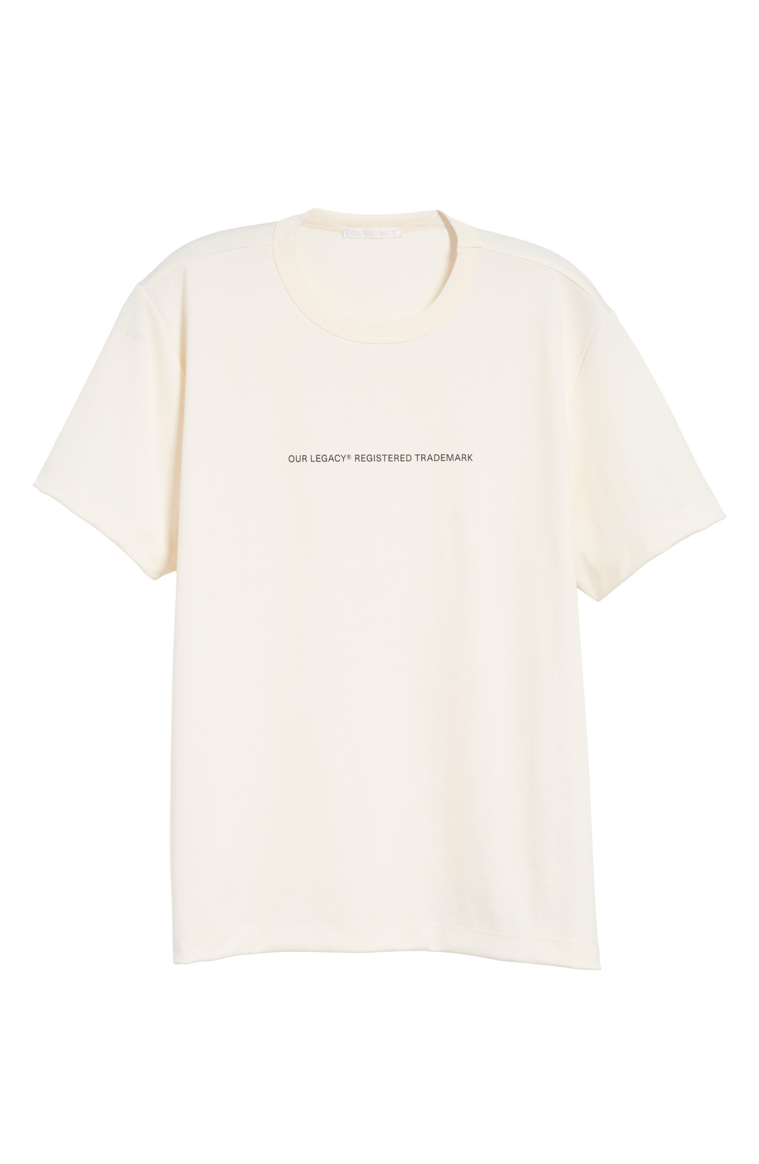 Trademark Graphic T-Shirt,                             Alternate thumbnail 6, color,                             White
