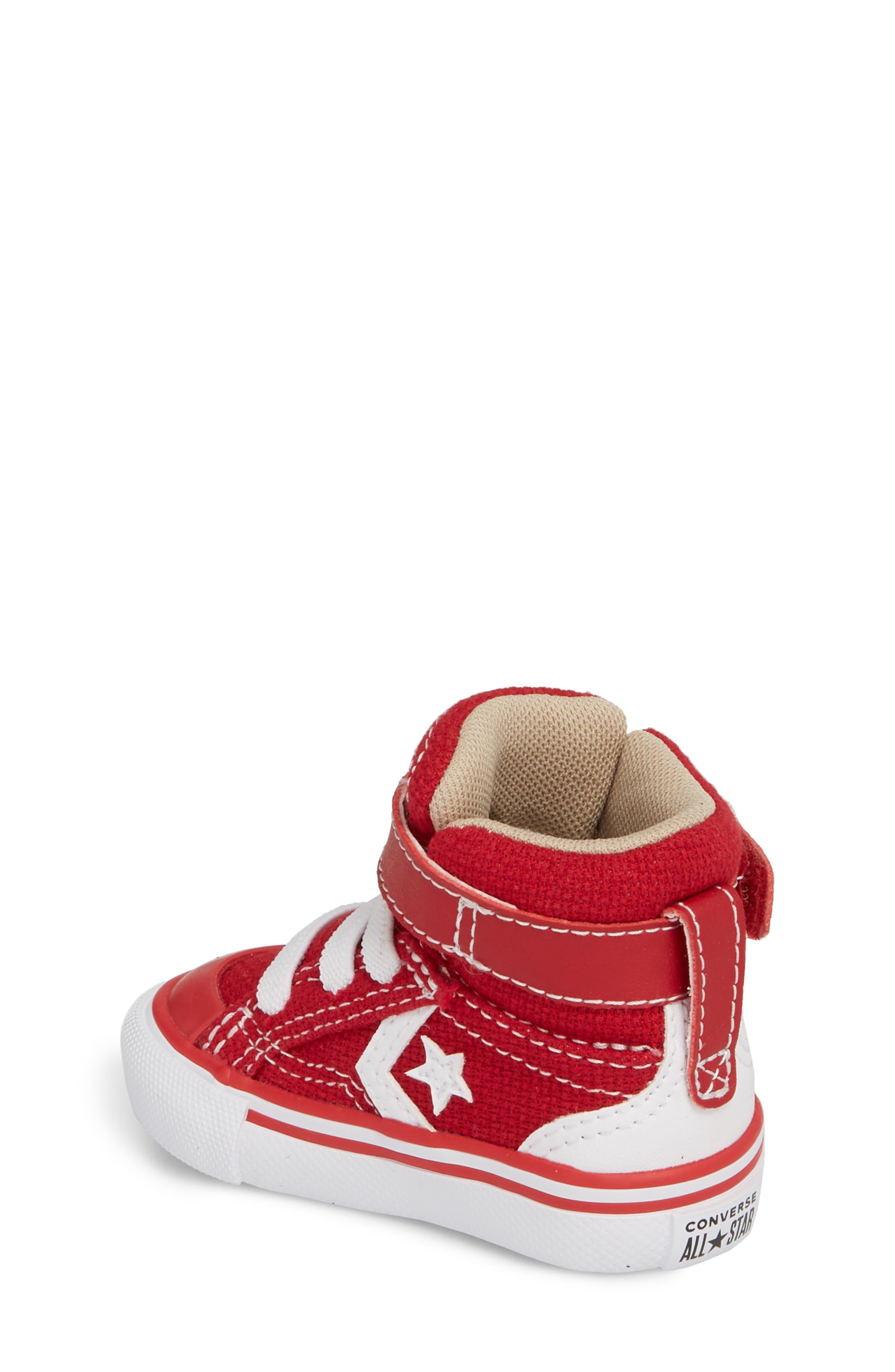 Pro Blaze High Top Sneaker,                             Alternate thumbnail 2, color,                             Gym Red
