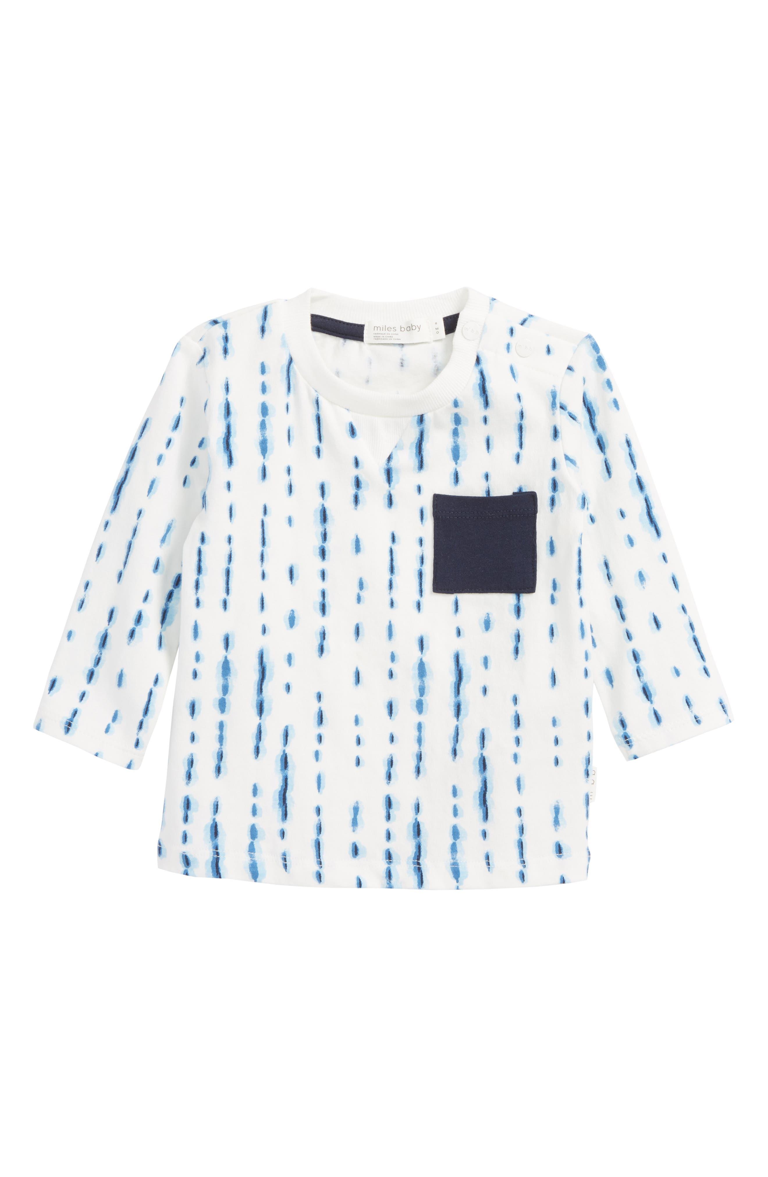 Main Image - Miles Baby Pocket T-Shirt (Baby Boys)
