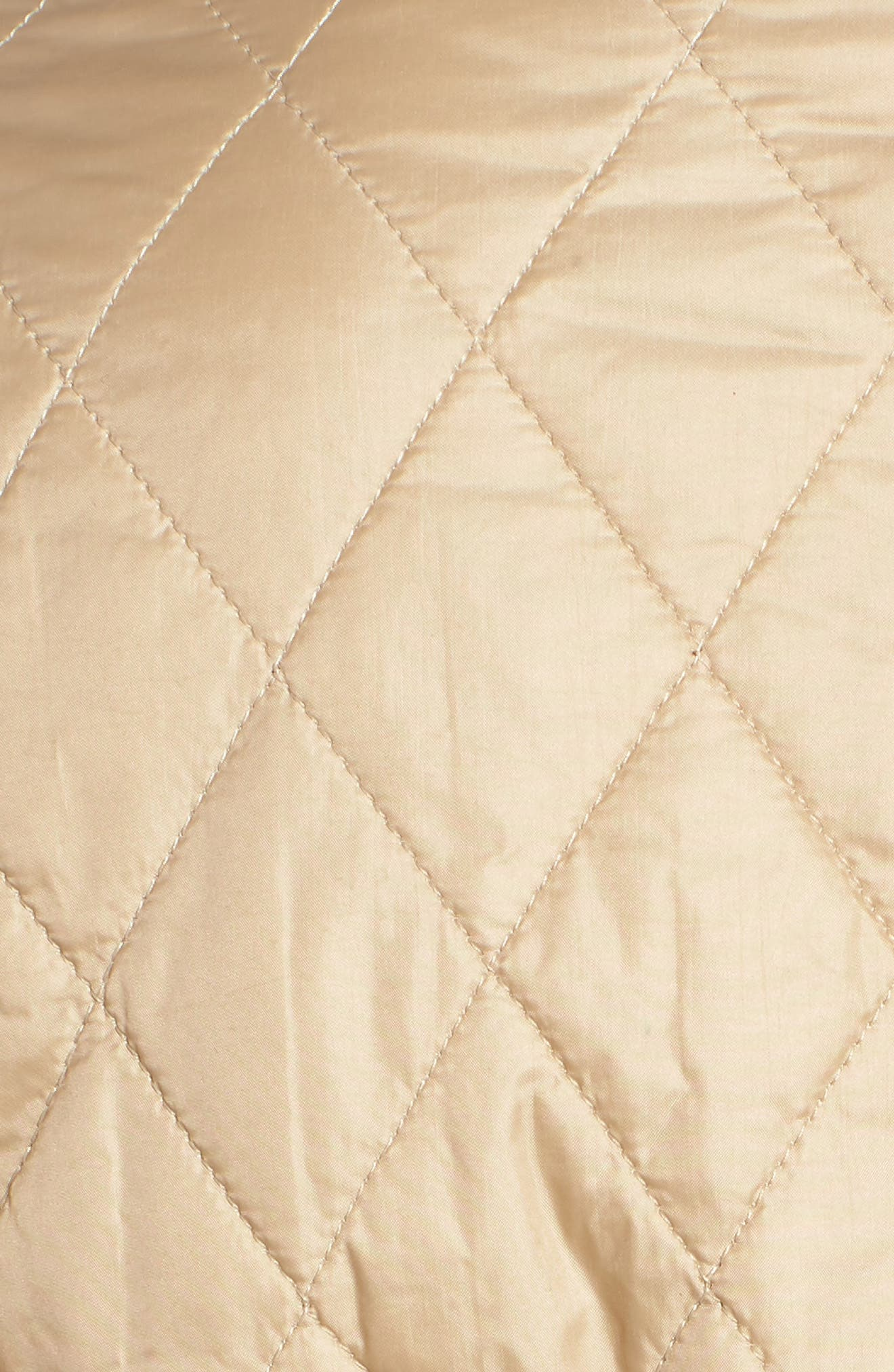 Cavalry Flyweight Quilt Jacket,                             Alternate thumbnail 6, color,                             Dark Stone/ Sand Stone