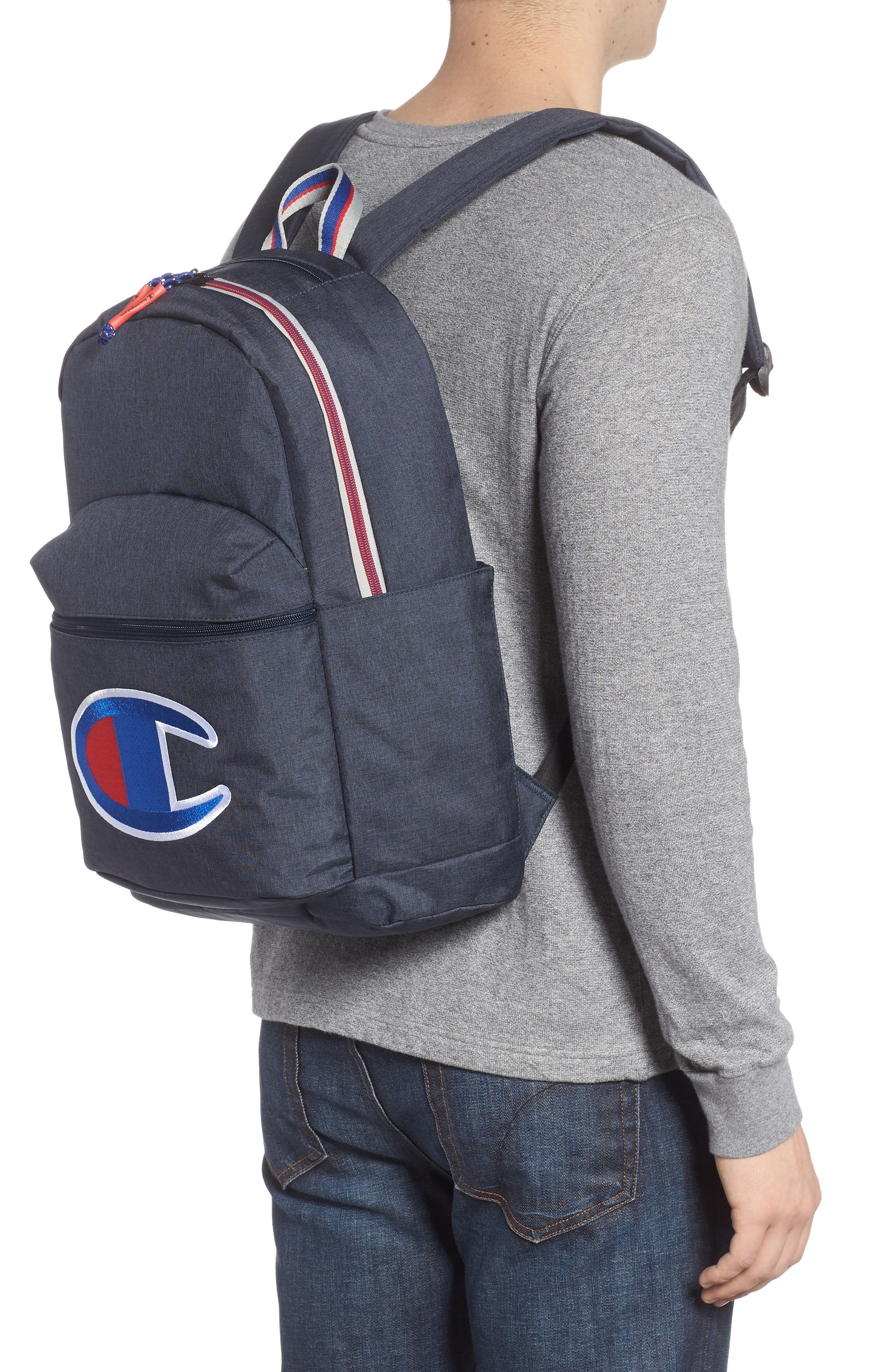 Supercize Backpack,                             Alternate thumbnail 2, color,                             Navy Heather