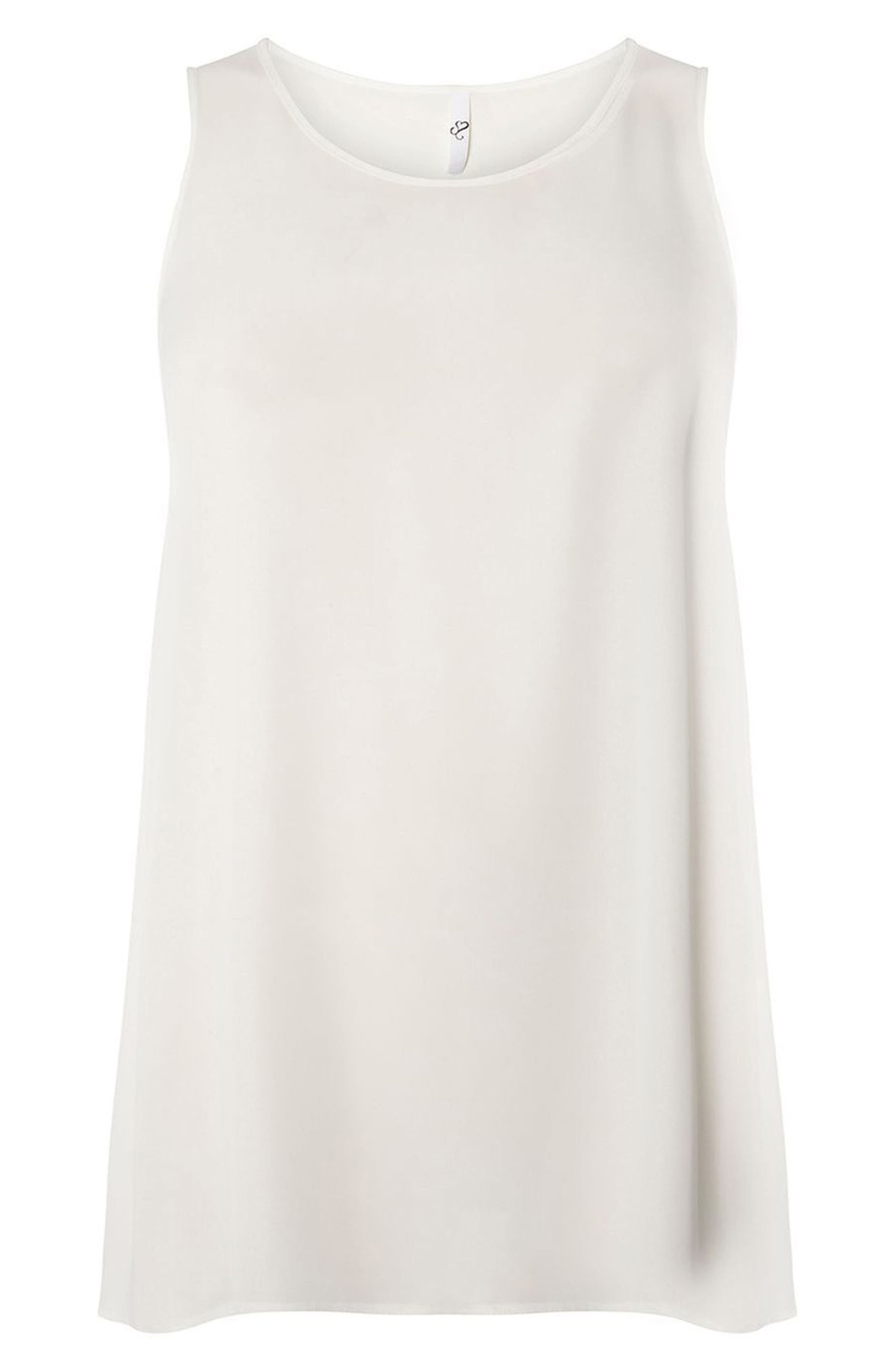 Tunic Top,                             Alternate thumbnail 3, color,                             Ivory