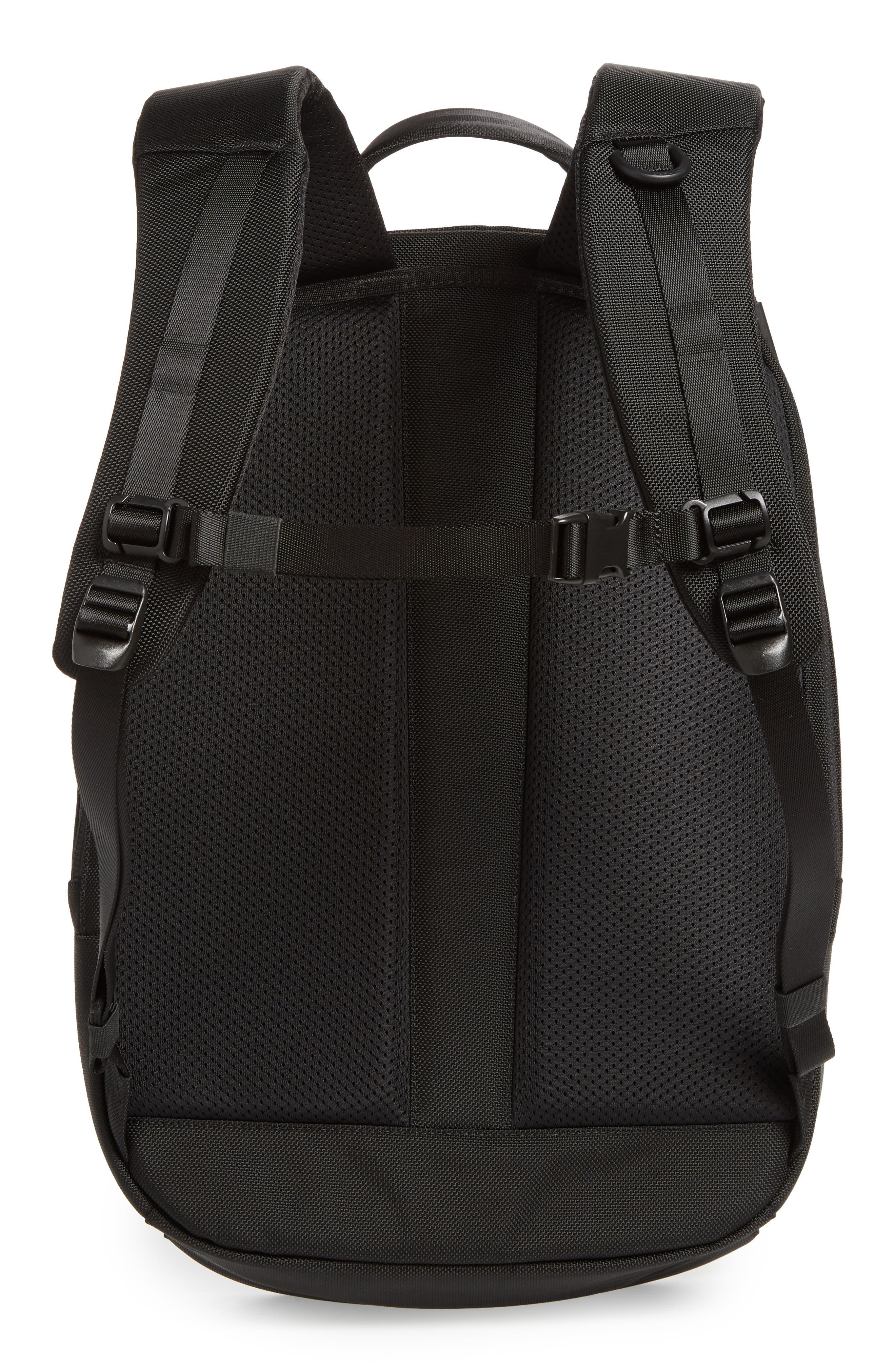 Work Day Backpack,                             Alternate thumbnail 3, color,                             Black