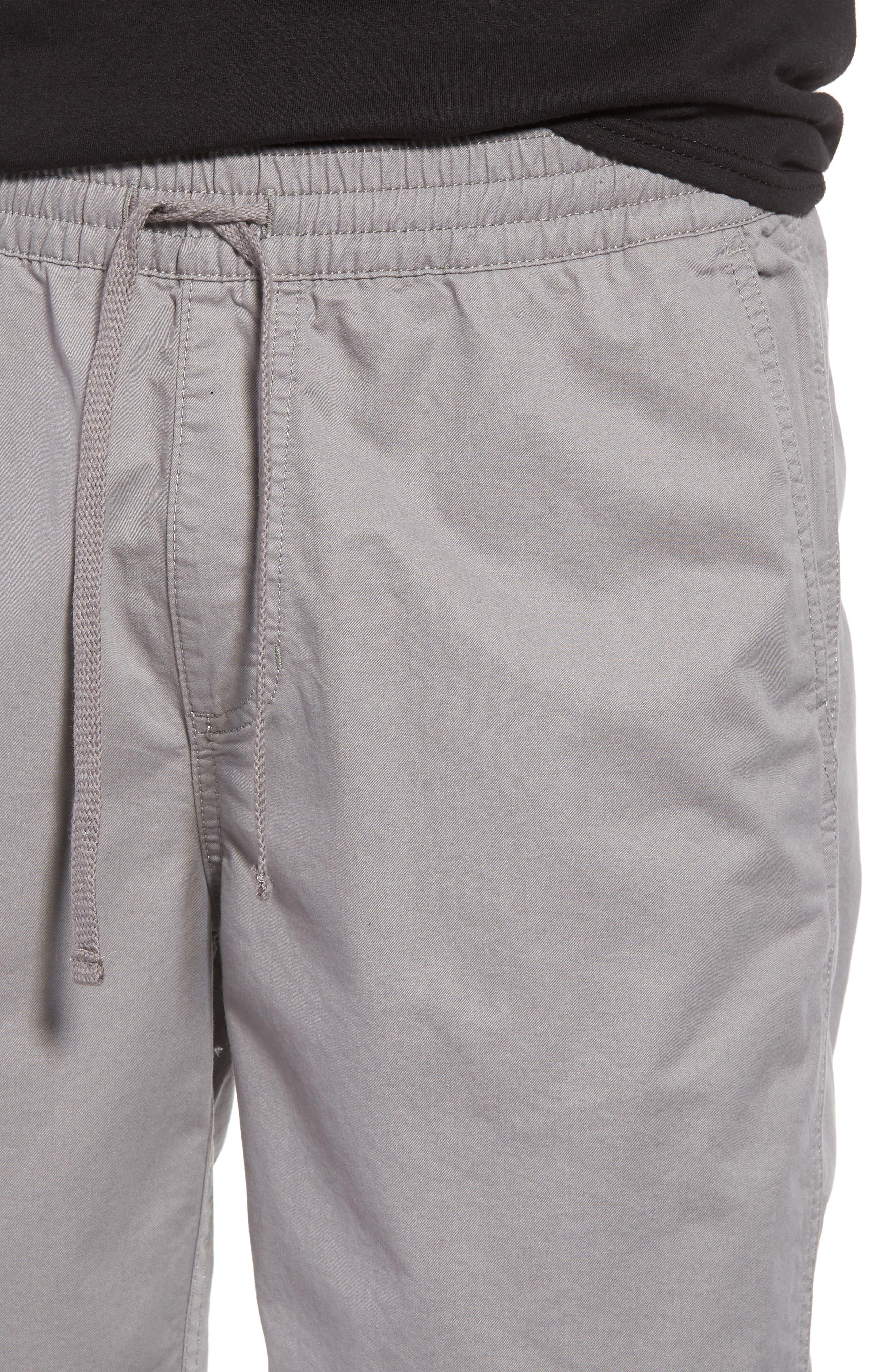 Range Drawstring Shorts,                             Alternate thumbnail 4, color,                             Frost Grey