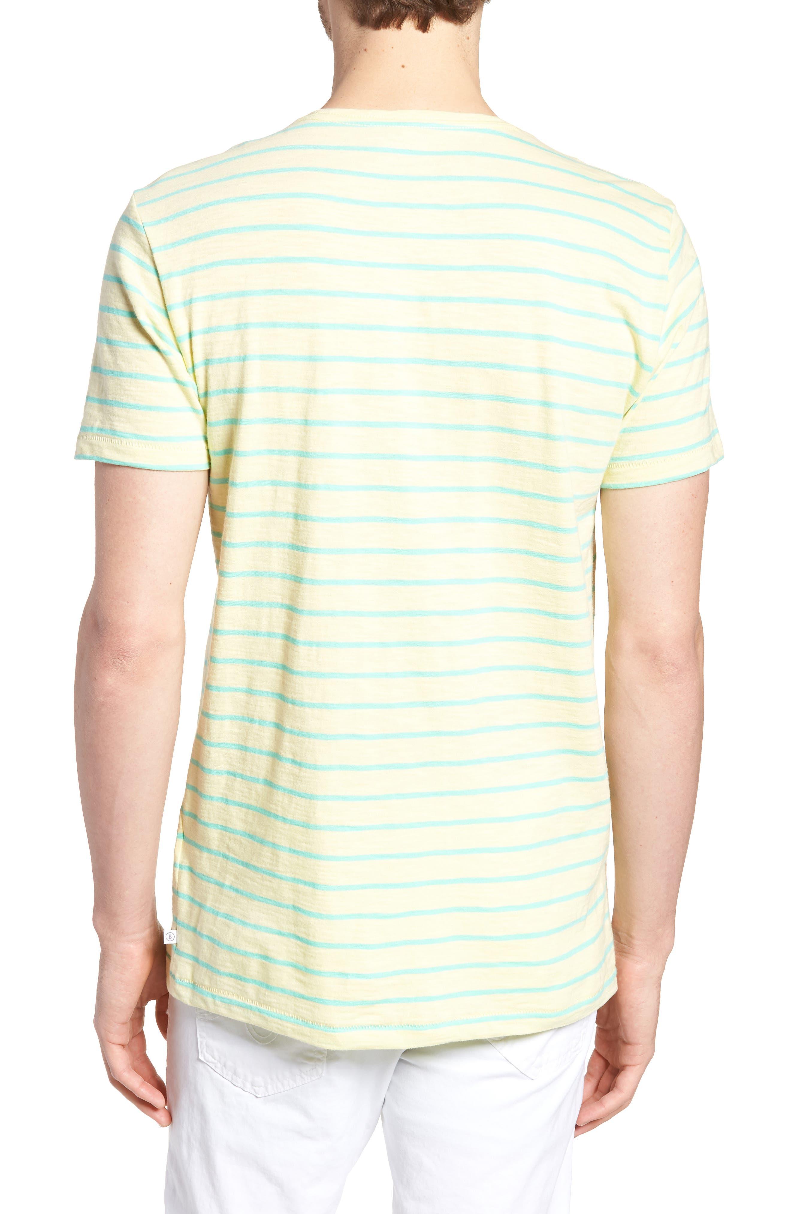 Stripe T-Shirt,                             Alternate thumbnail 2, color,                             Cactus Stripe