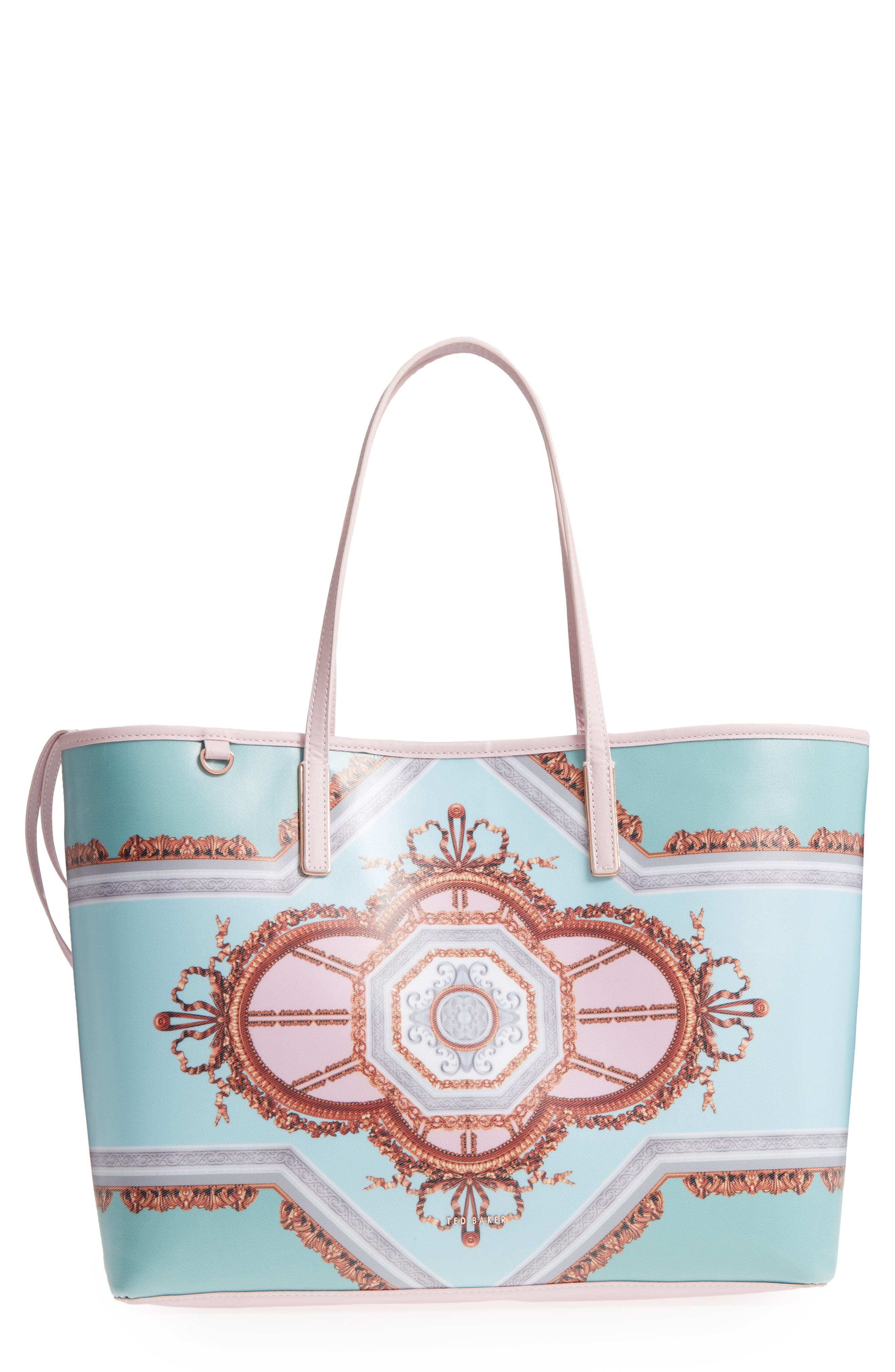 Alternate Image 1 Selected - Ted Baker London Voletta Versailles Print Canvas Tote