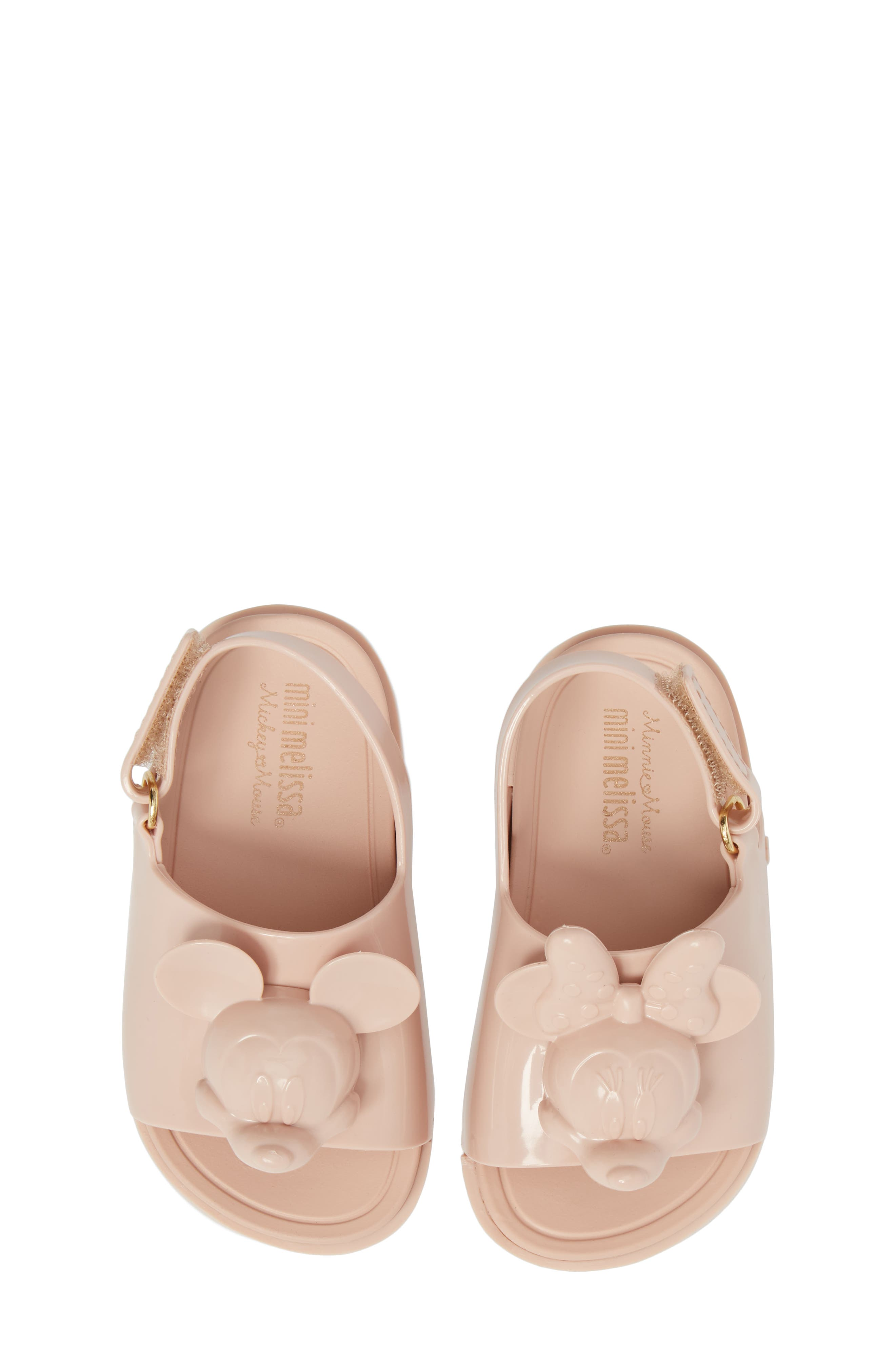 Mini Melissa Disney® Mini Beach Sandal (Walker & Toddler)