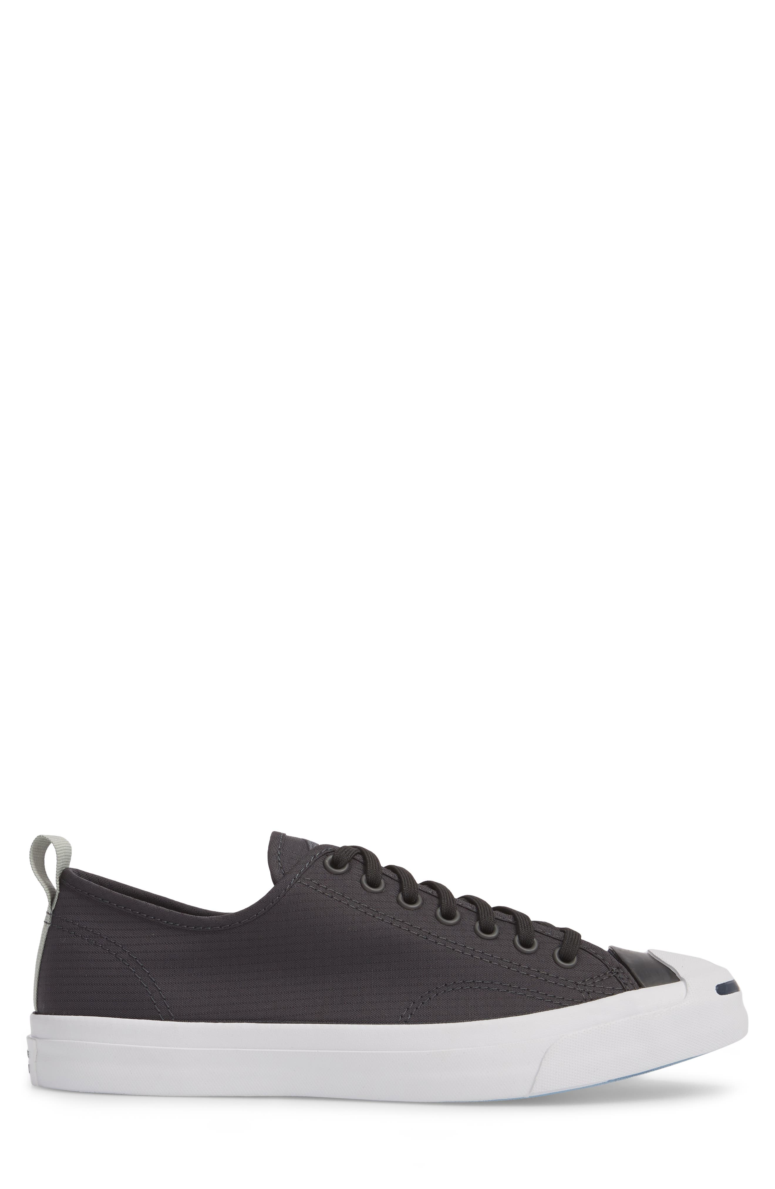 Jack Purcell Ripstop Sneaker,                             Alternate thumbnail 3, color,                             Black