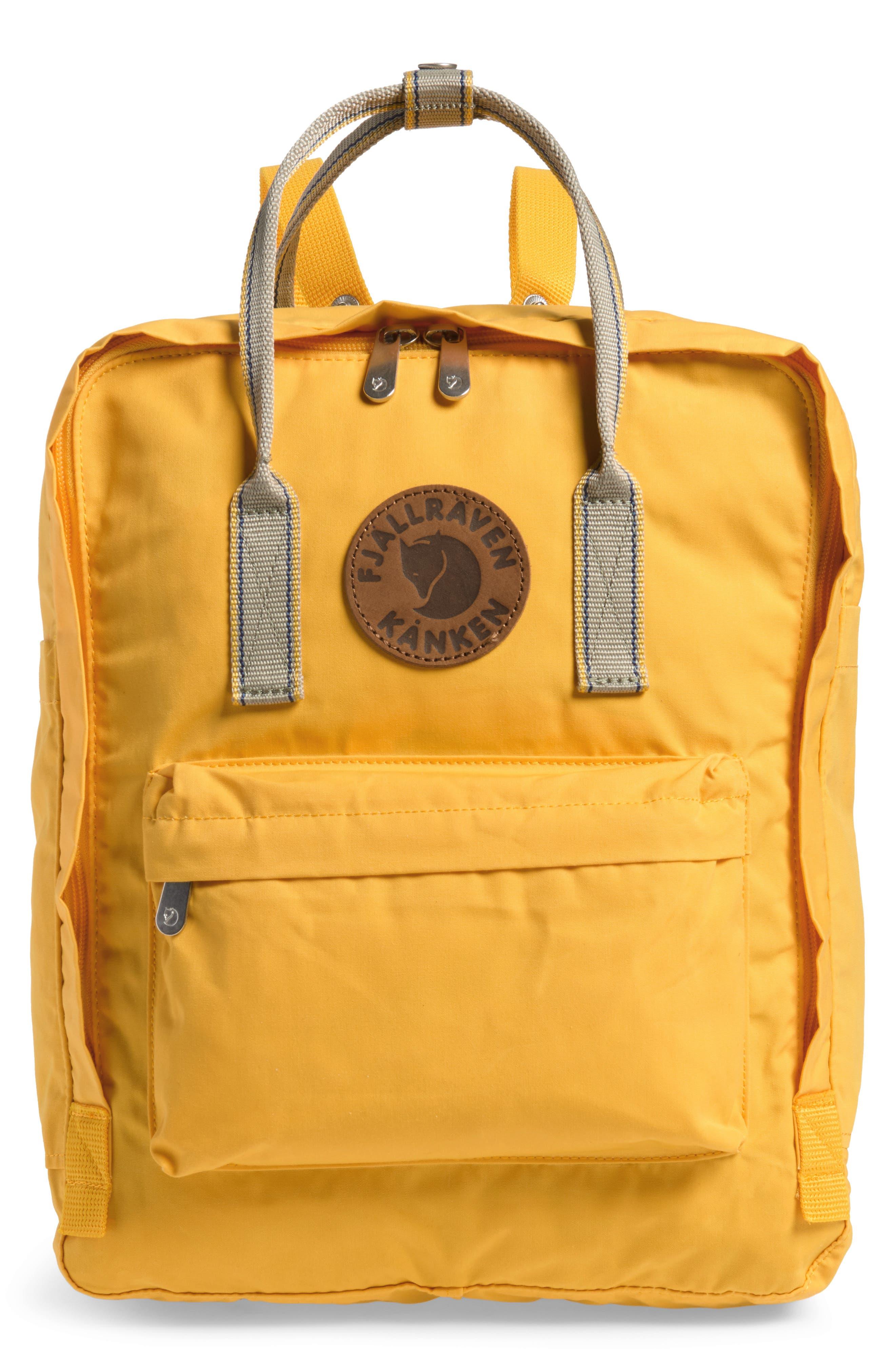 Kånken Greenland Backpack,                             Main thumbnail 1, color,                             Dandelion