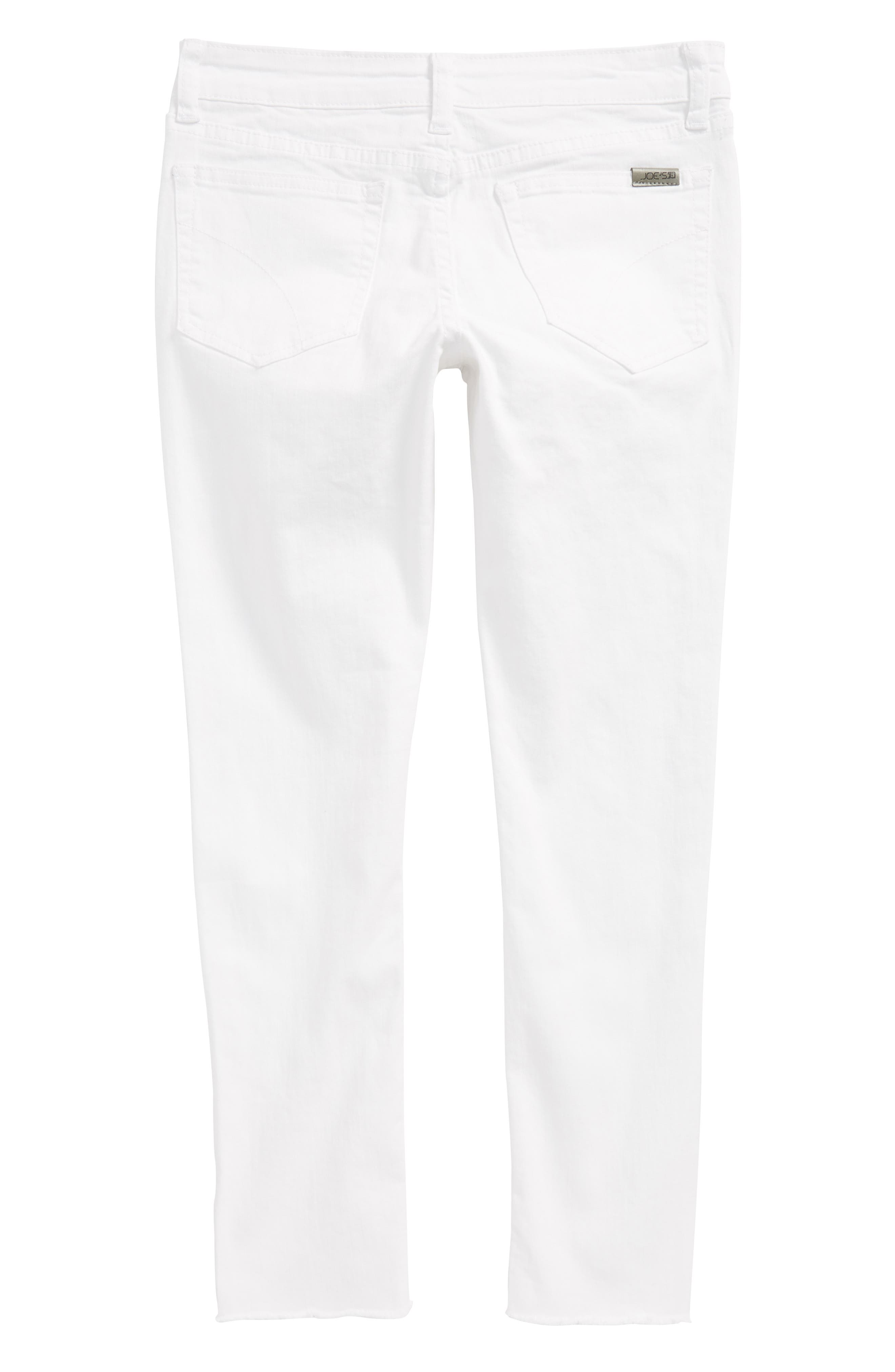 The Markie Ankle Skinny Jeans,                             Alternate thumbnail 2, color,                             Bright White