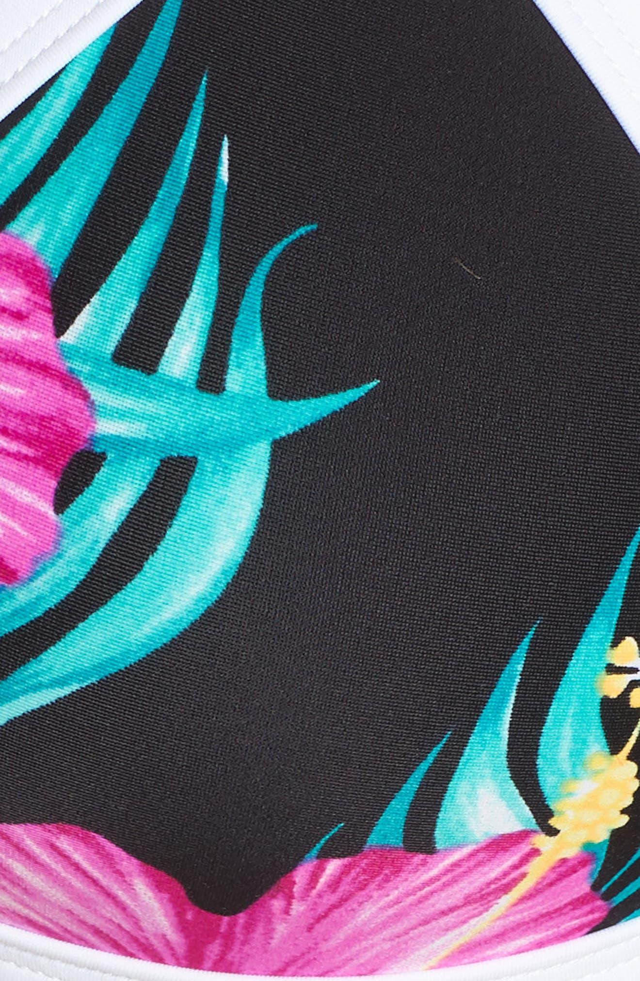 Molokai Love Bikini Top,                             Alternate thumbnail 8, color,                             Black