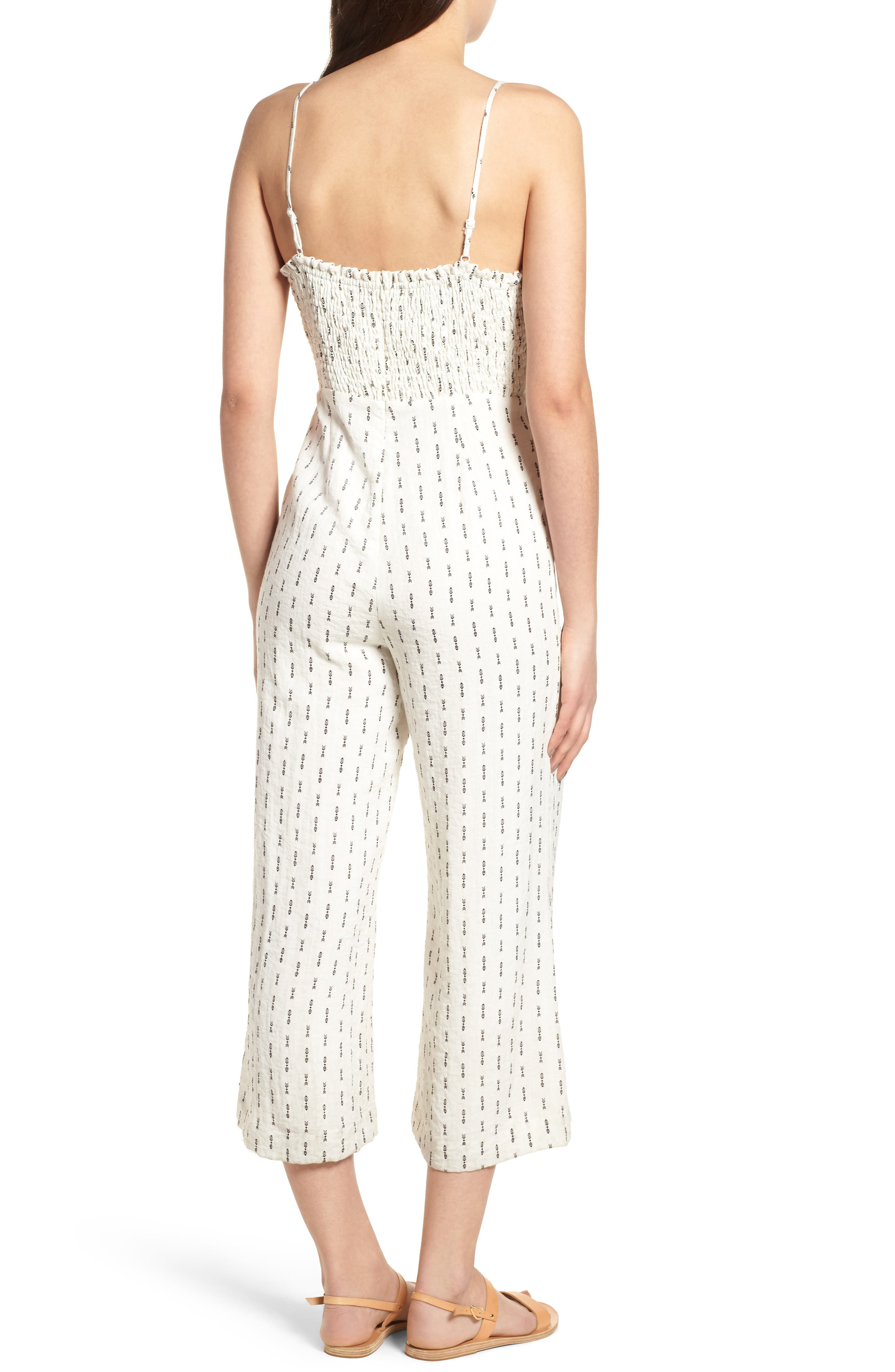 Hollywood Jumpsuit,                             Alternate thumbnail 3, color,                             White