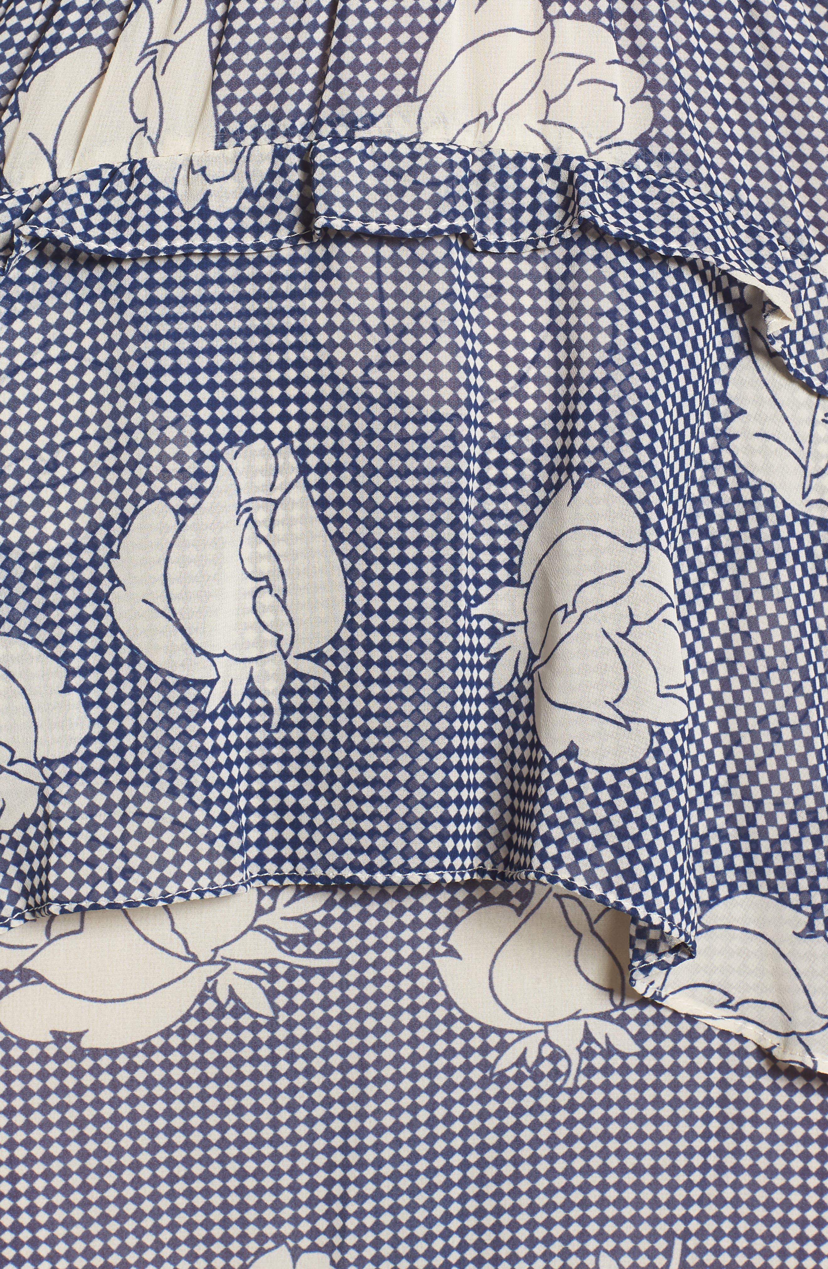 Anca Halter Dress,                             Alternate thumbnail 6, color,                             Multi Fe12
