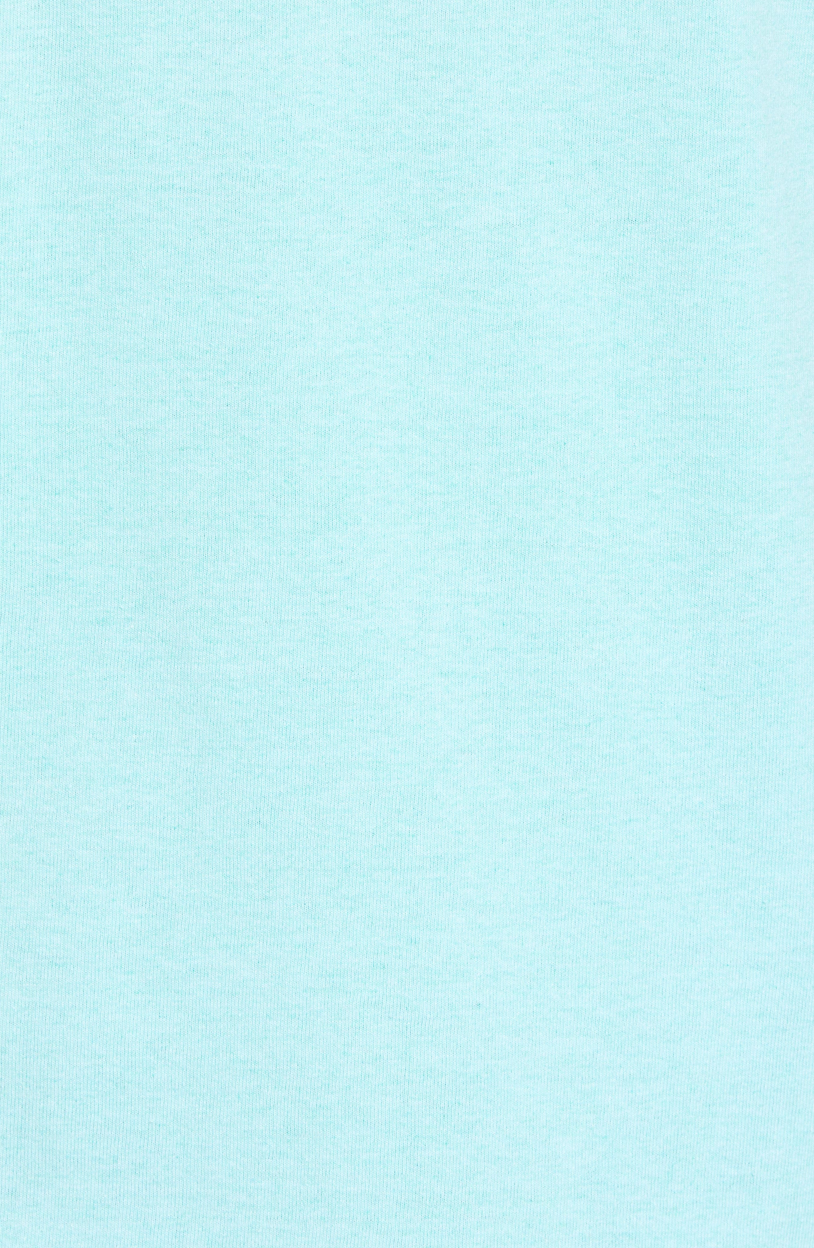 Fitz Roy Trout Crewneck T-Shirt,                             Alternate thumbnail 5, color,                             Bend Blue