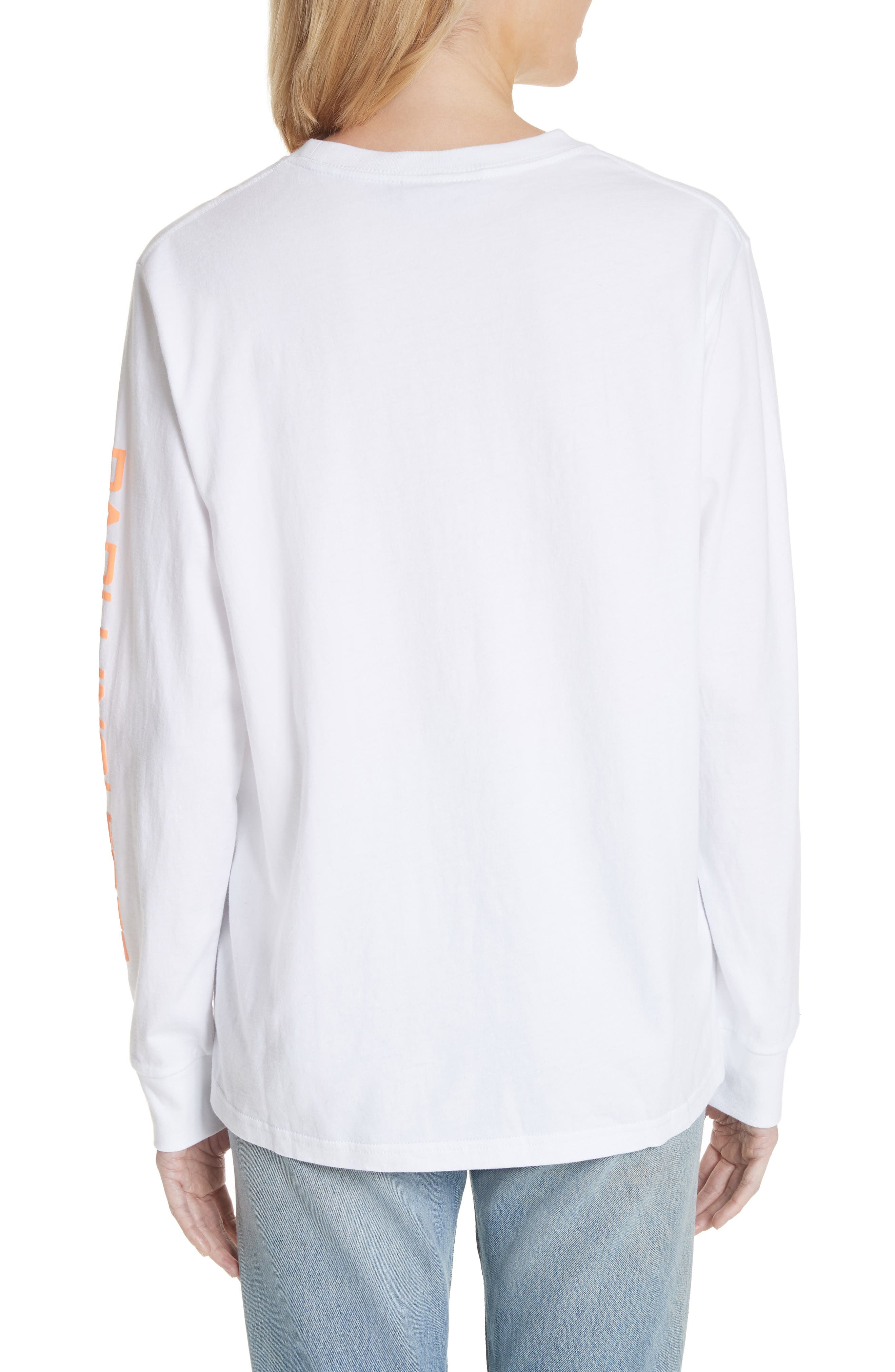 Dave Graphic Tee,                             Alternate thumbnail 2, color,                             White